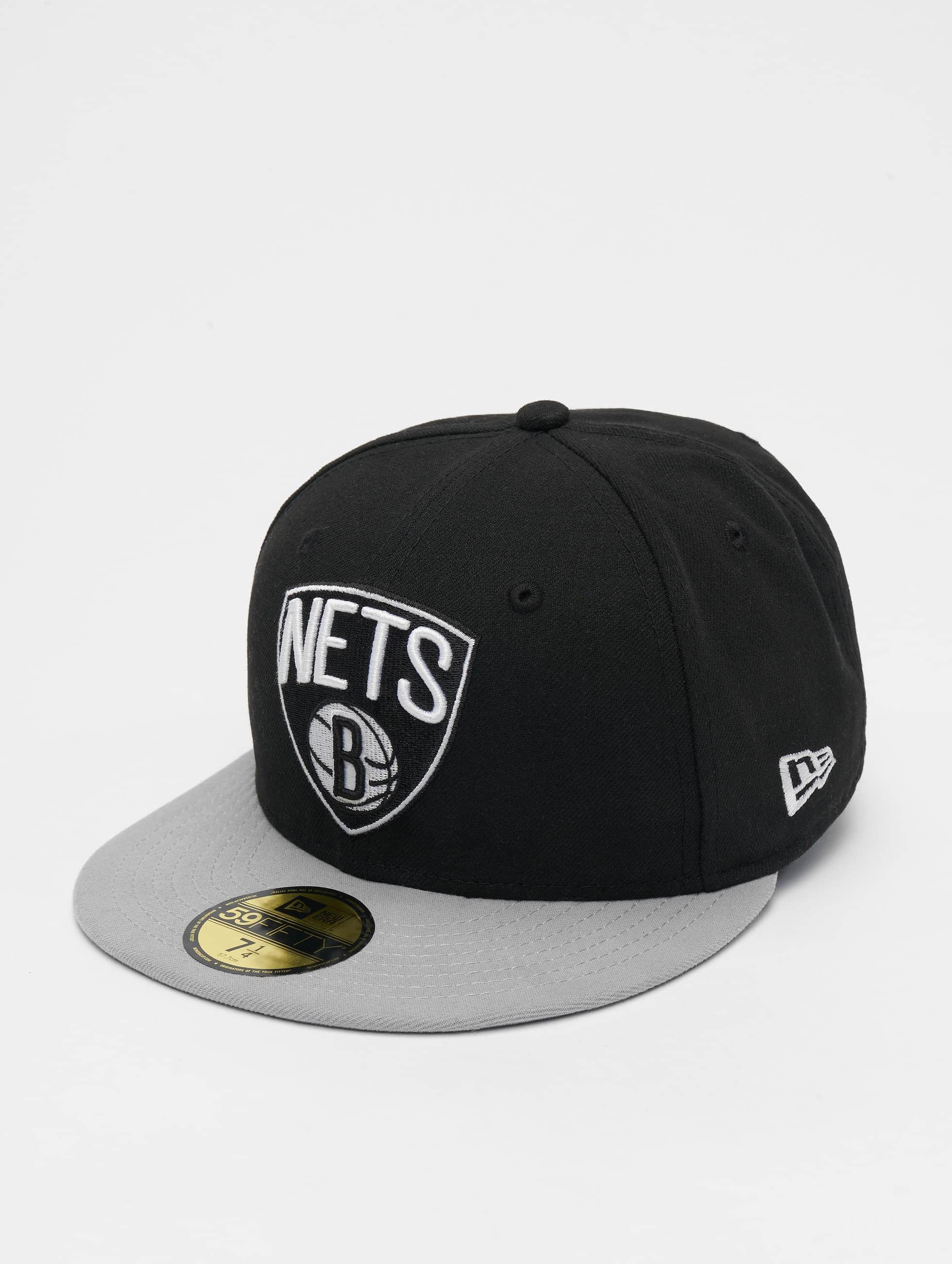 New Era Fitted Cap NBA Basic Brooklyn Nets 59Fifty schwarz