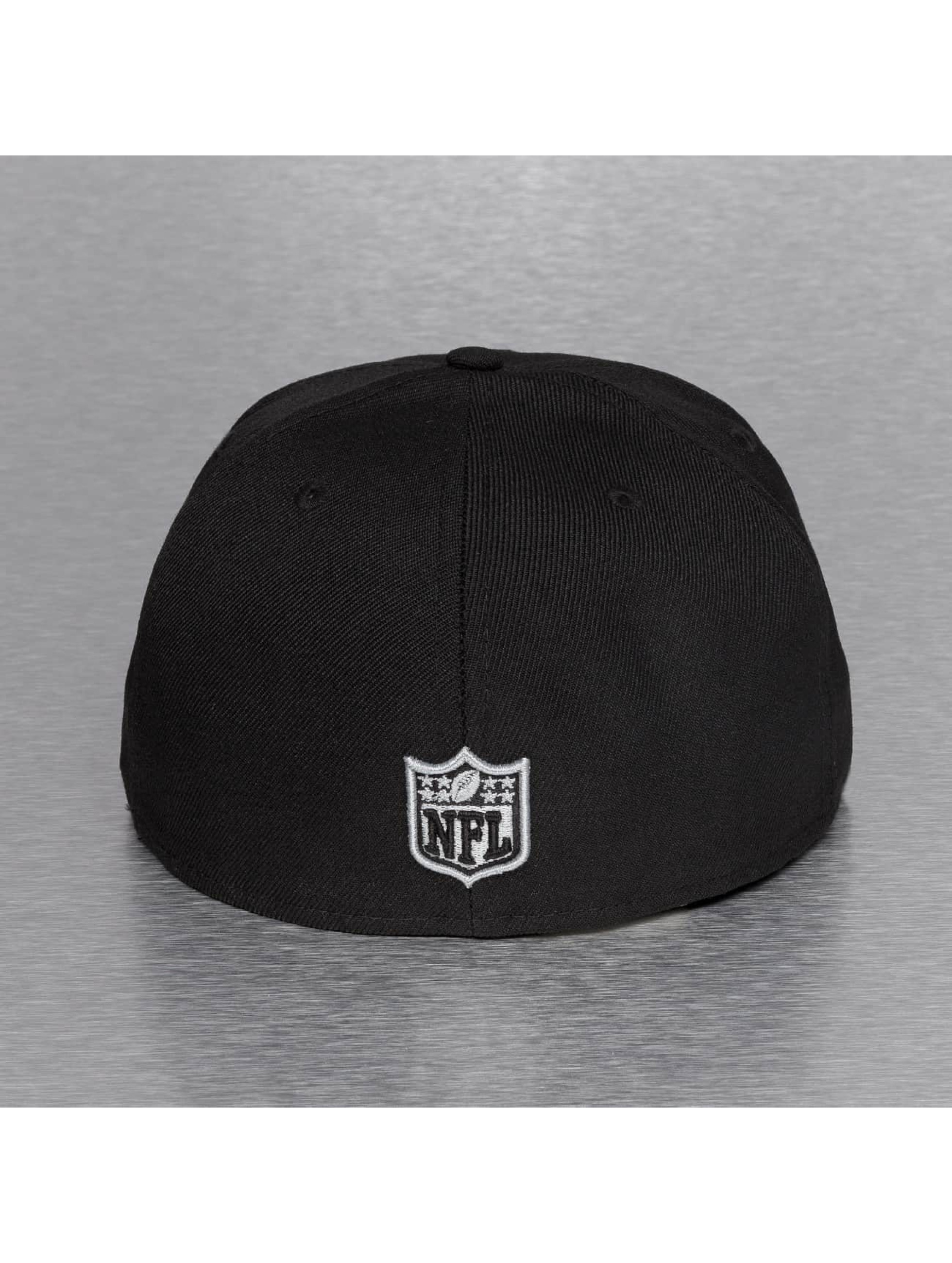 New Era Fitted Cap On Field 15 Sideline Oakland Raiders schwarz