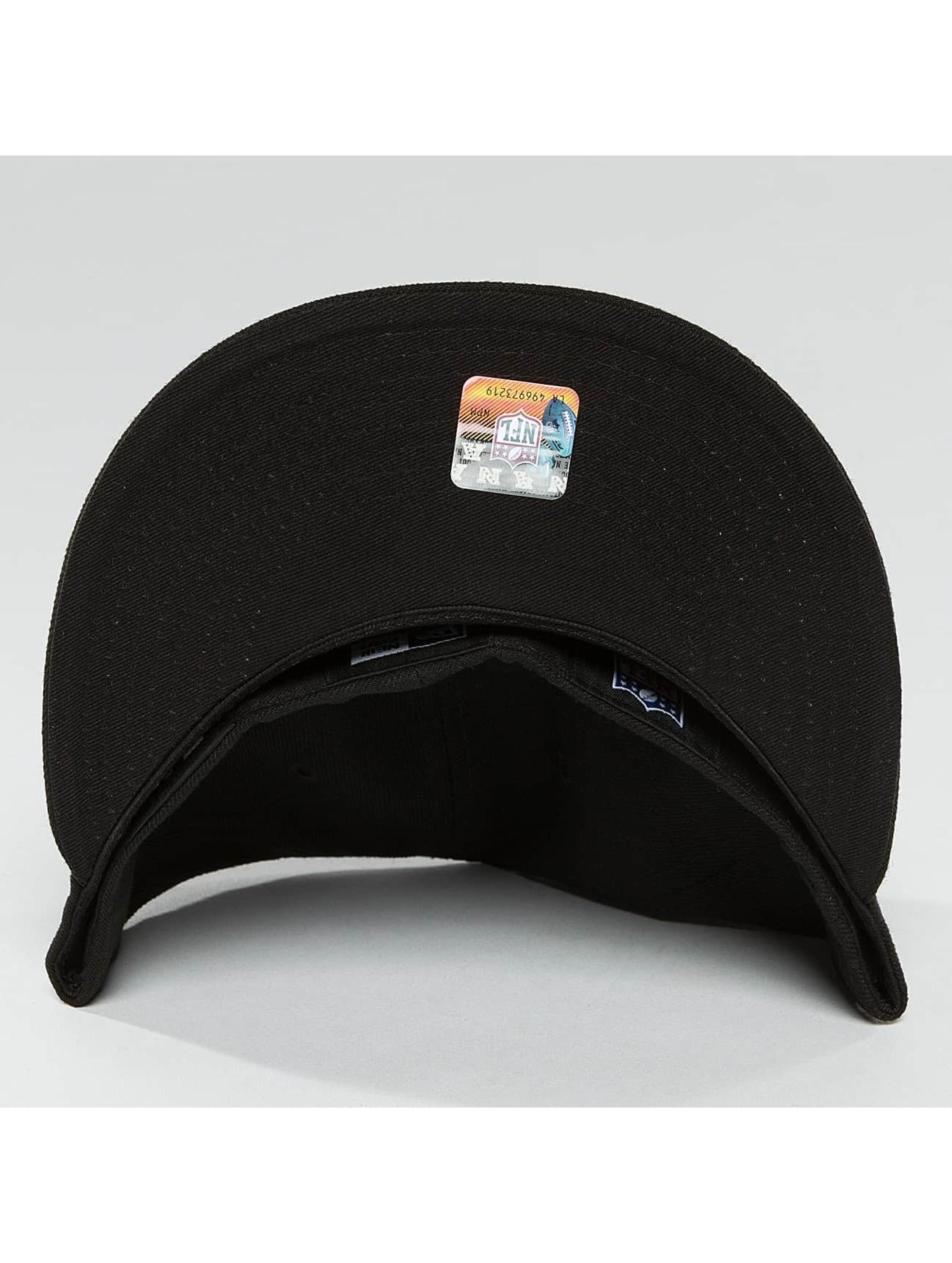 New Era Fitted Cap Black Graphite New England Patriots 59Fifty schwarz