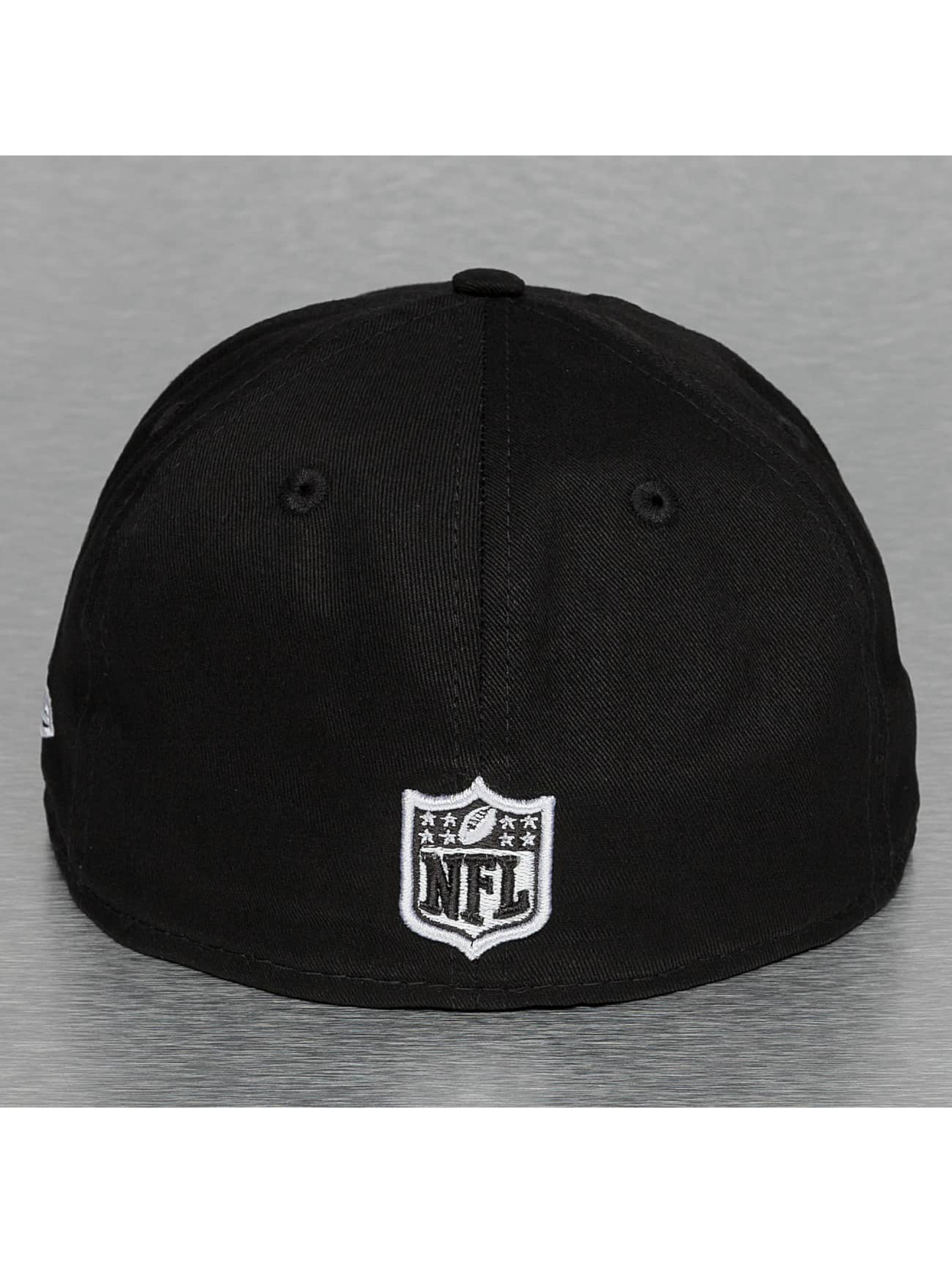New Era Fitted Cap Black Base Seattle Seahawks svart