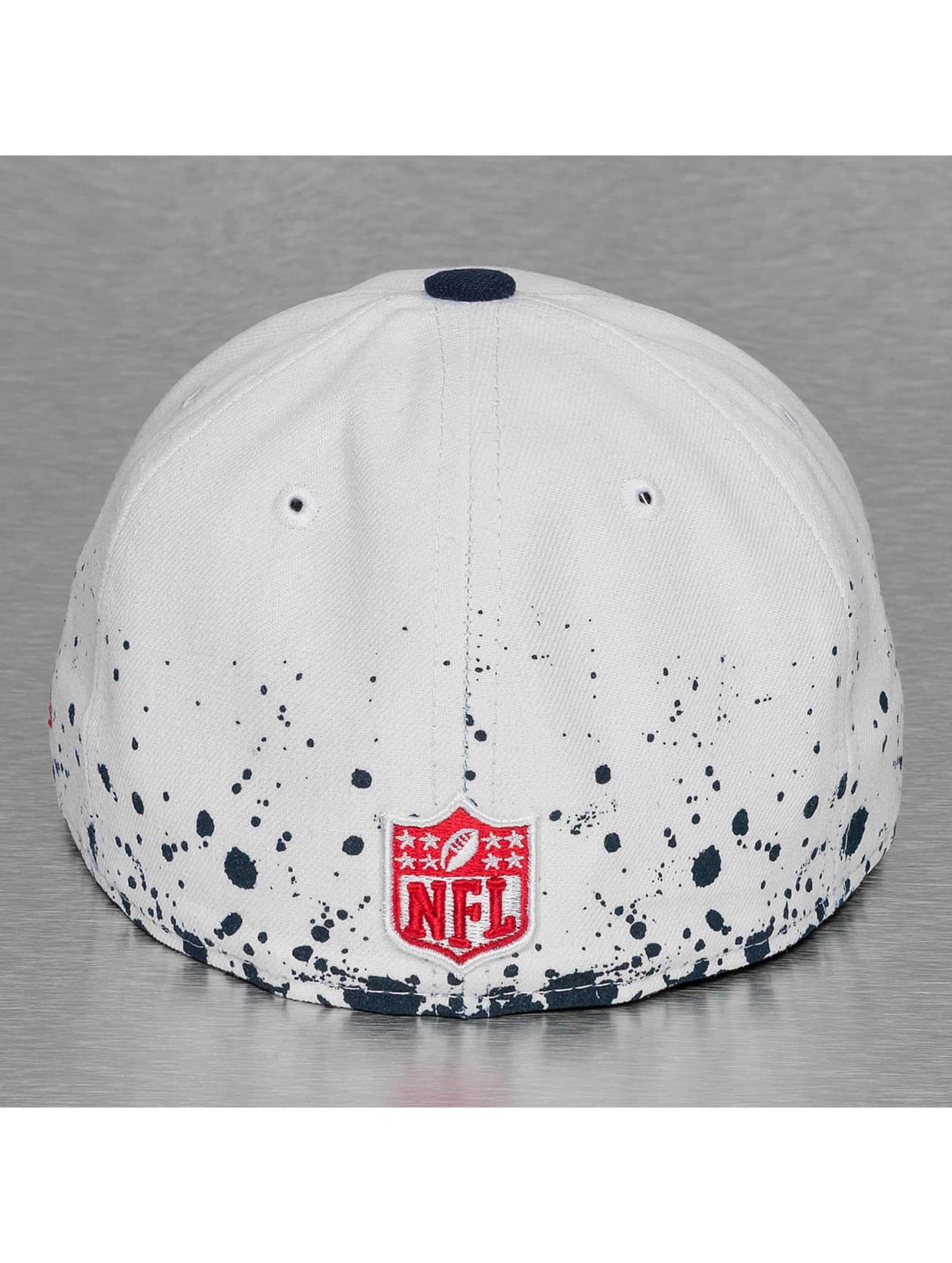 New Era Fitted Cap Splatter New England Patriots white