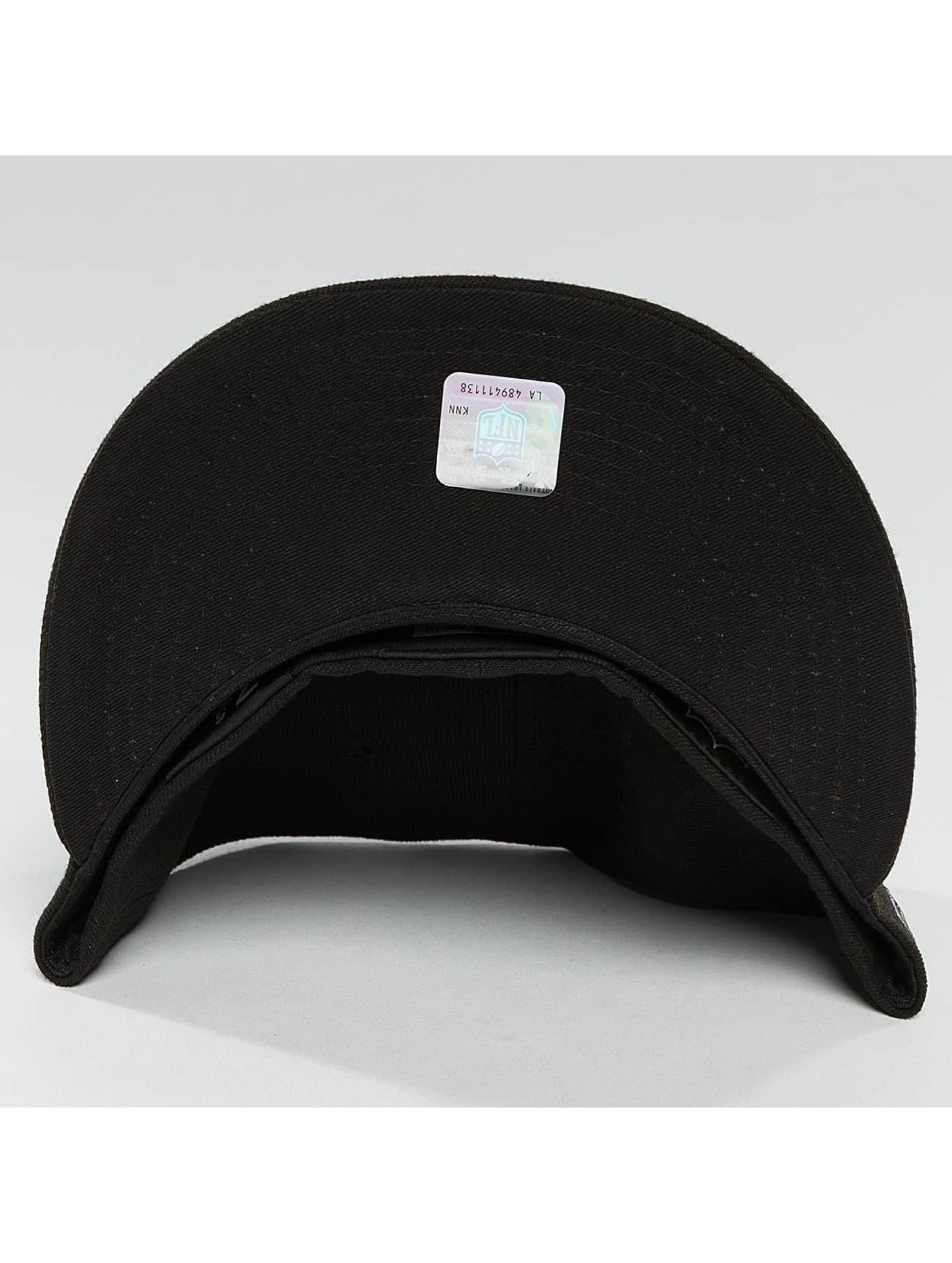New Era Fitted Cap Black Graphite Carolina Panthers 59Fifty zwart