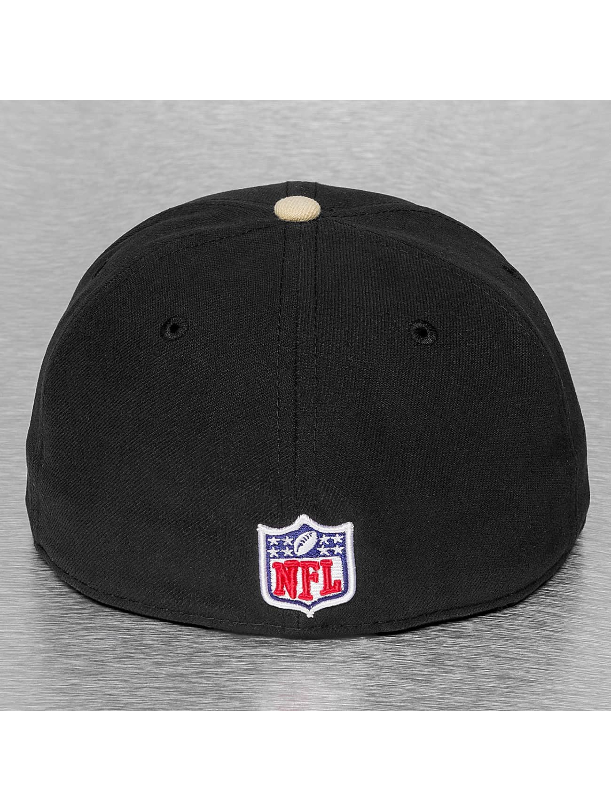 New Era Fitted Cap NFL On Field New Orleans Saints 59Fifty zwart