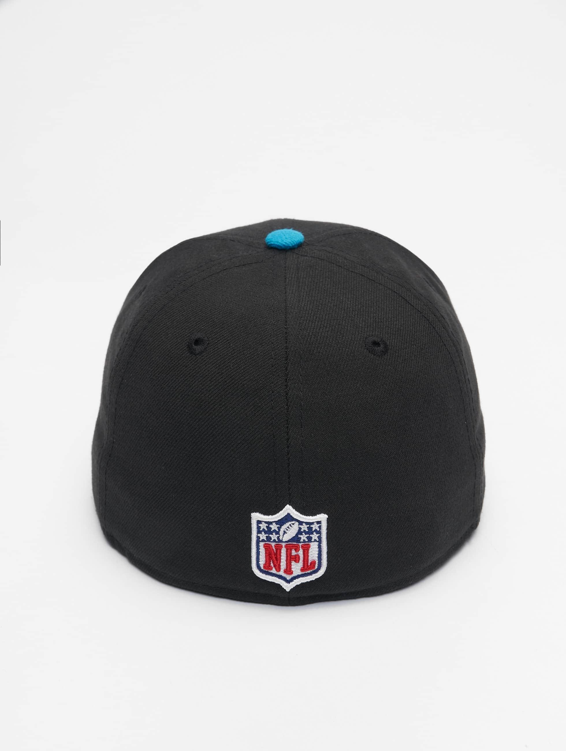 New Era Fitted Cap NFL On Field Carolina Panthers zwart