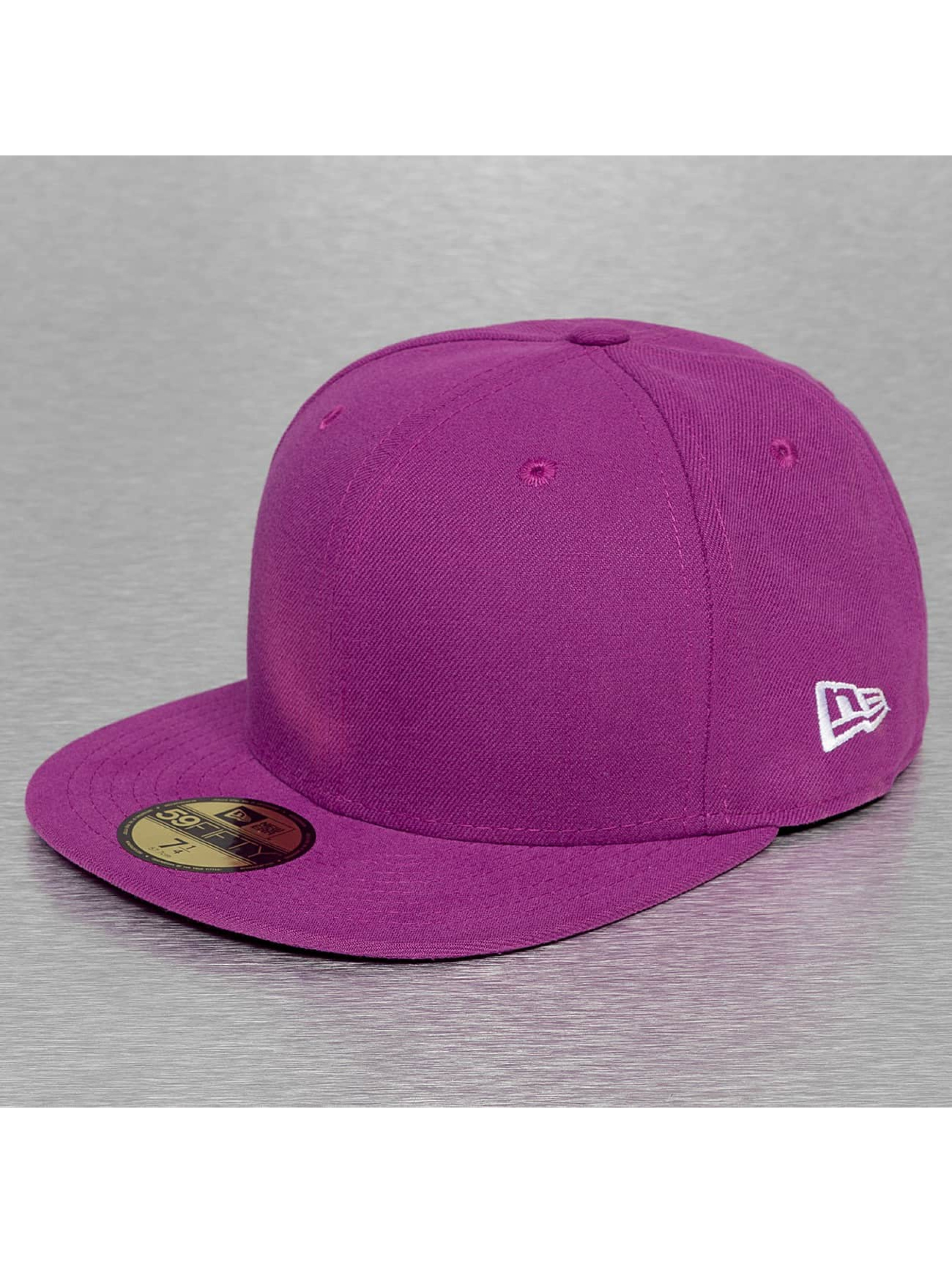 New Era Casquette / Fitted Original Basic 59Fifty en pourpre