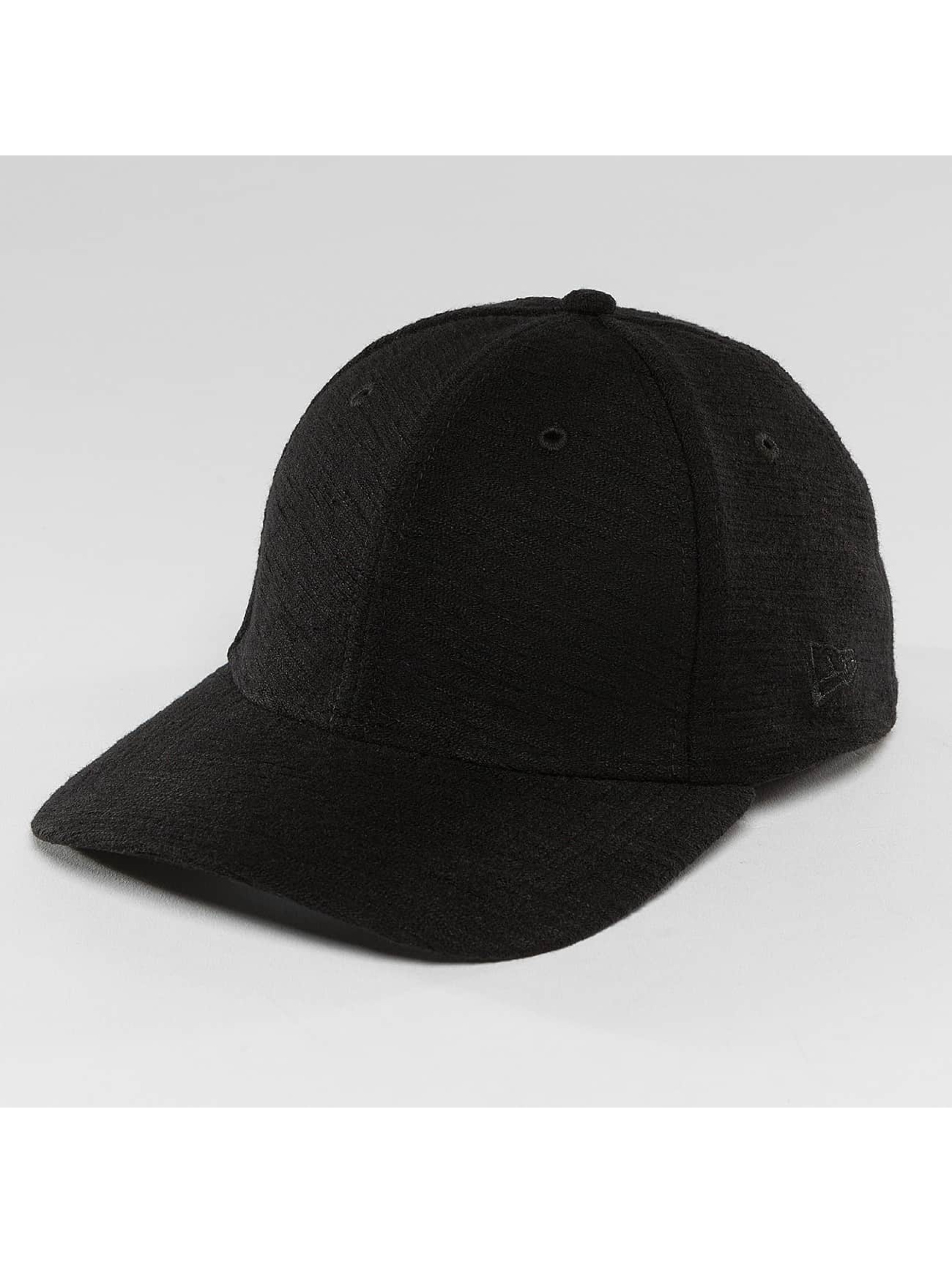 New Era Flexfitted Cap Slub 39Thirty black