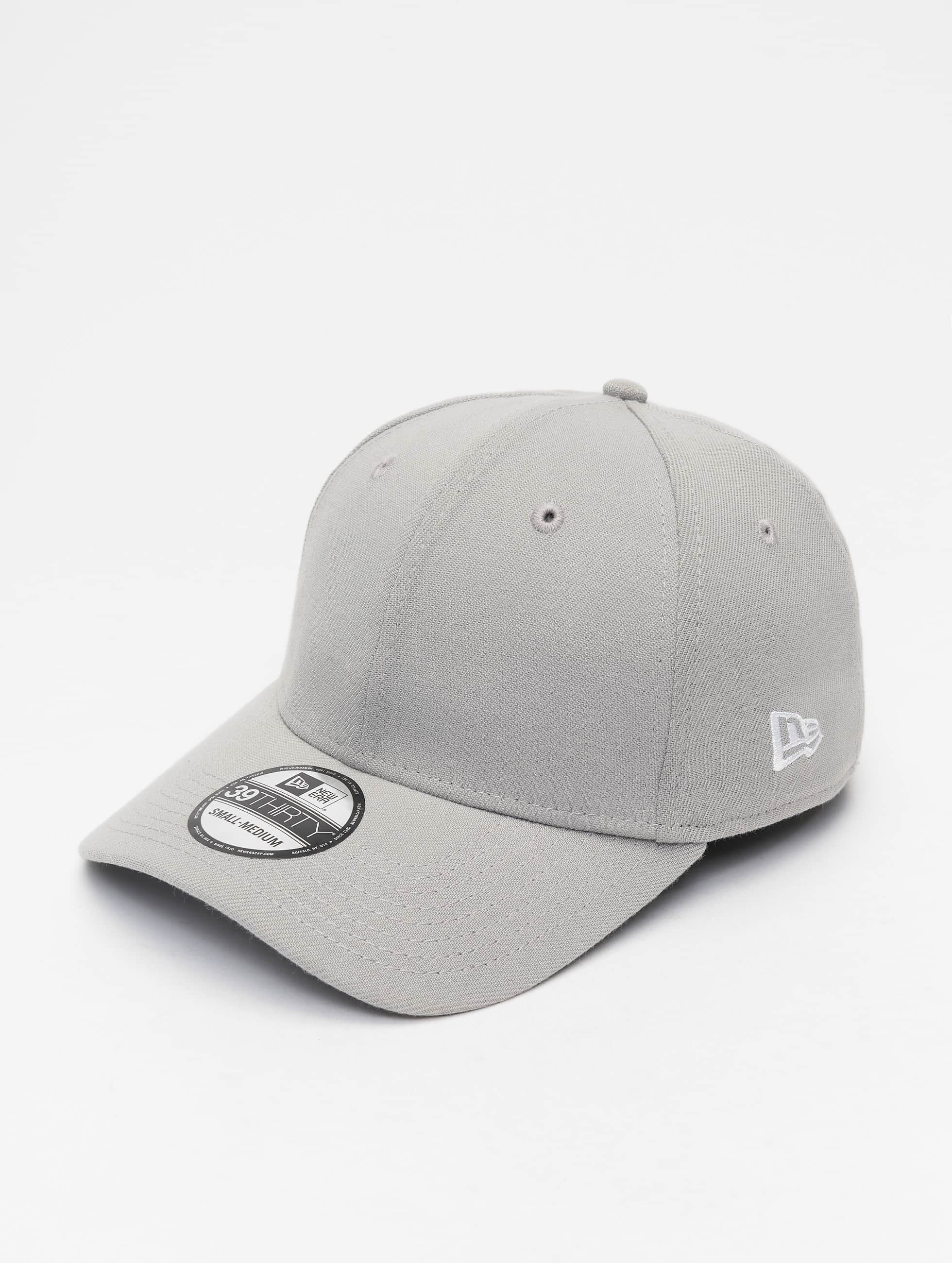 New Era Flexfitted Cap Basic grau