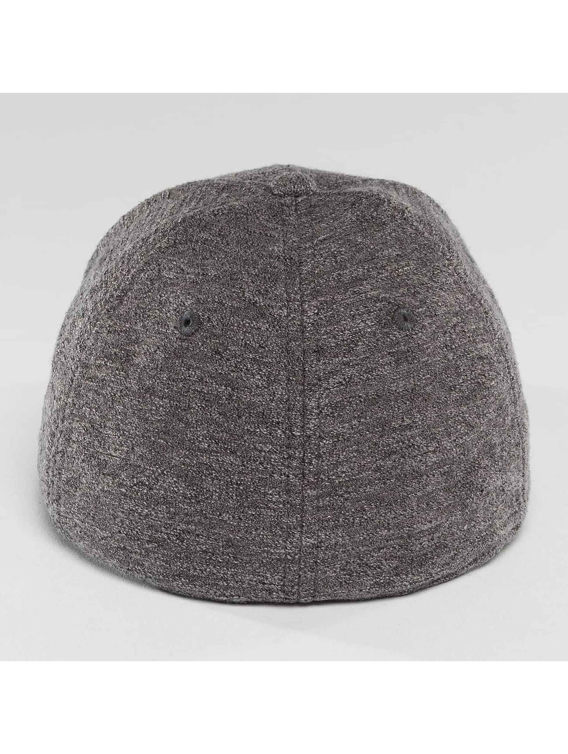 New Era Flexfitted Cap Slub 39Thirty Cap grey