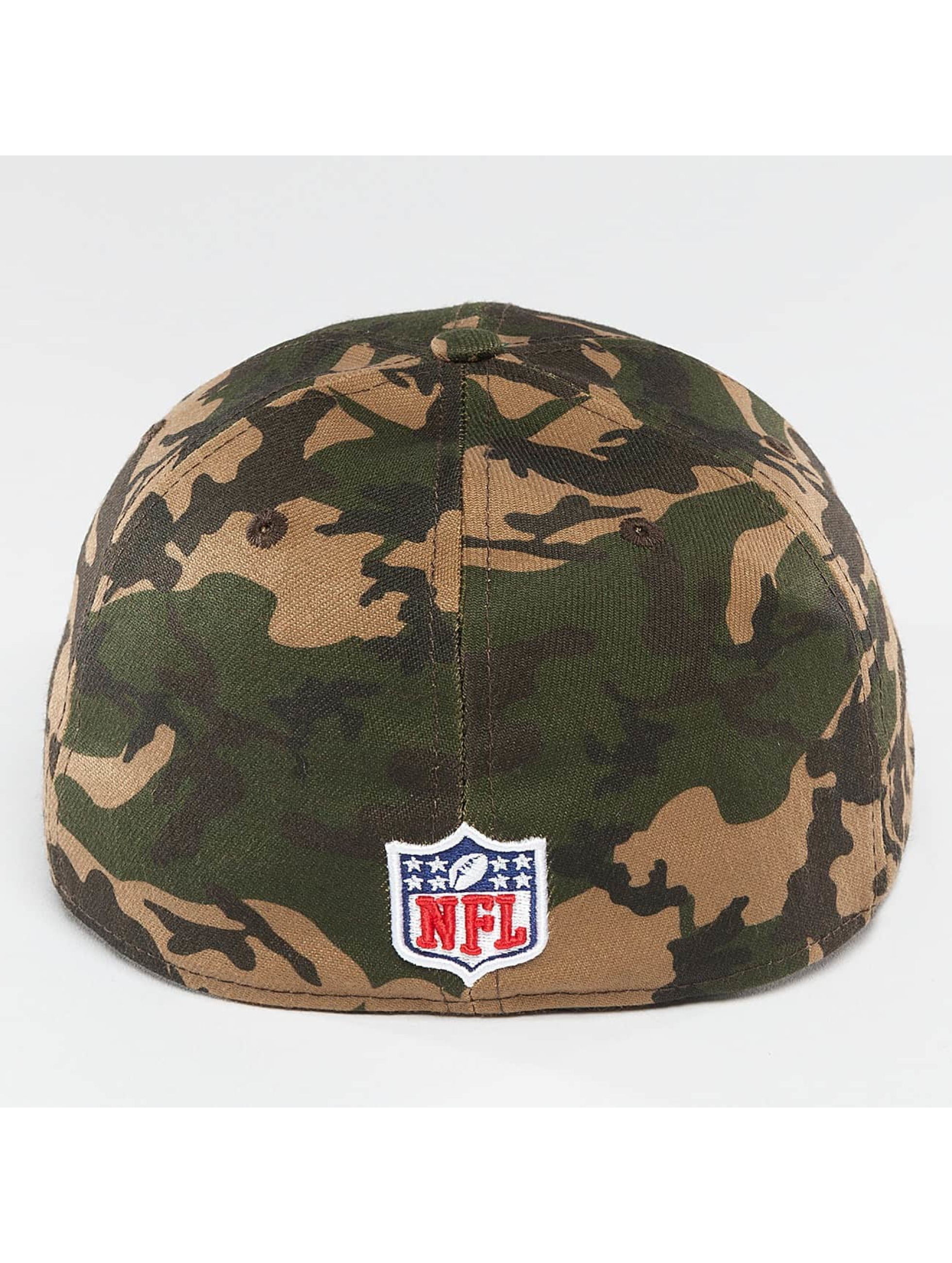 New Era Flexfitted Cap Camo Team Stretch New England Patriots 39Thirty maskáèová