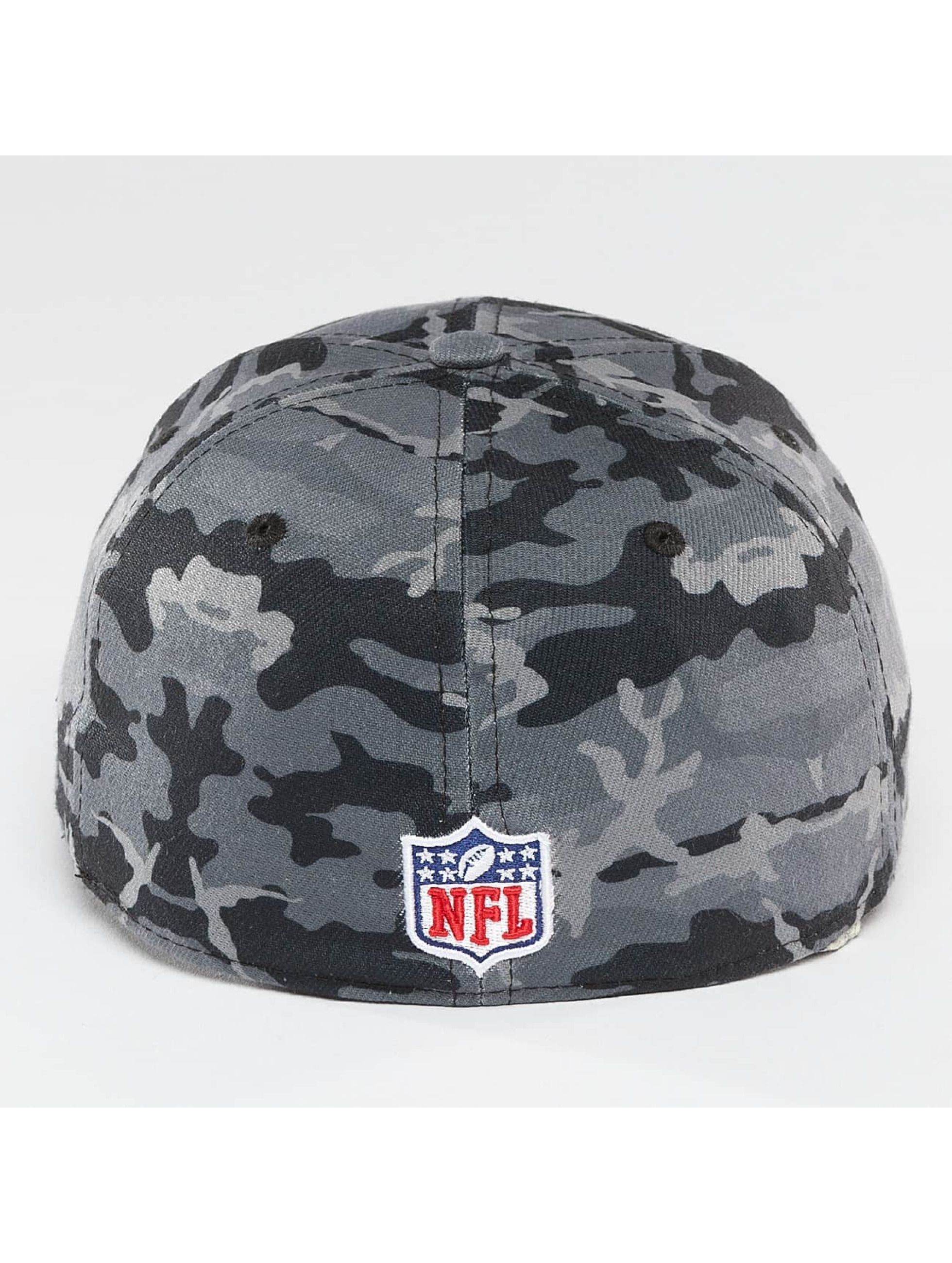 New Era Flexfitted Cap Camo Team Stretch Carolina Panthers 39Thirty maskáèová