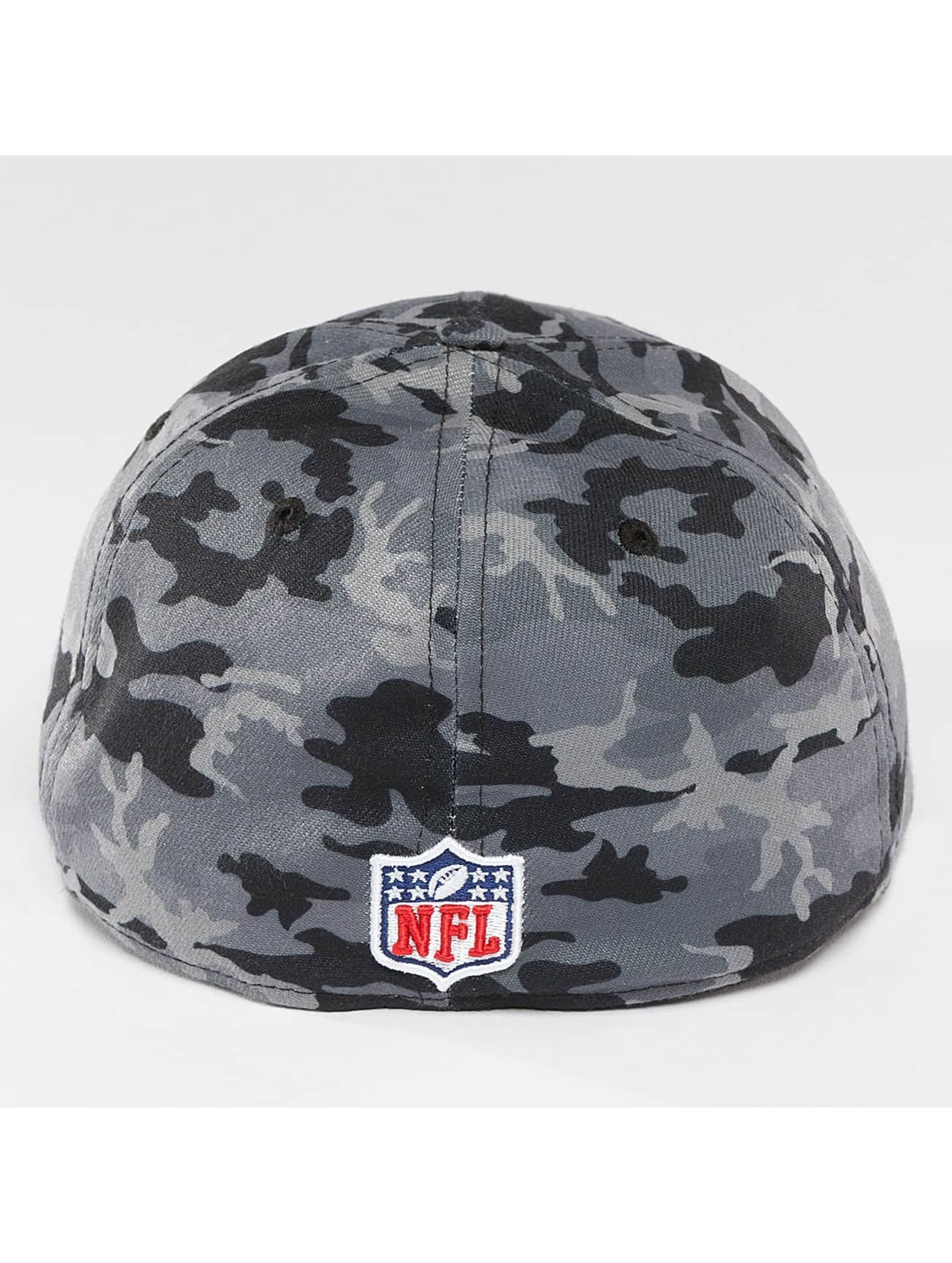 New Era Flexfitted Cap Camo Team Stretch Seattle Seahawks 39Thirty maskáèová