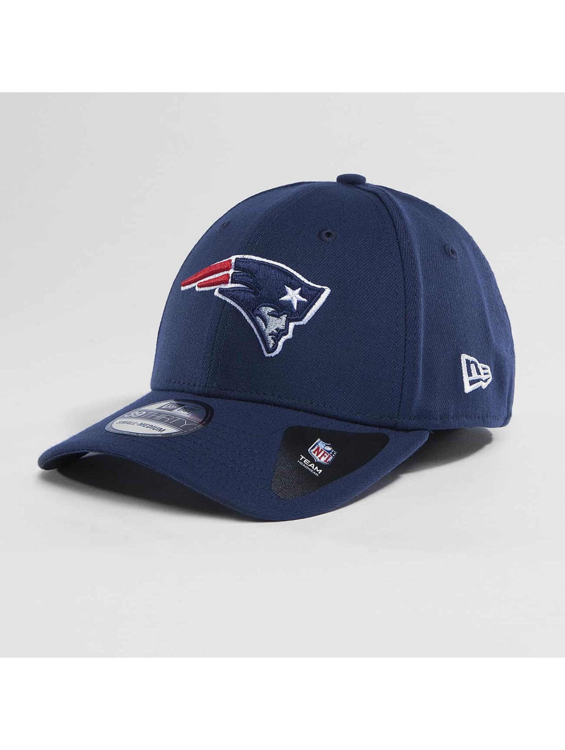 New Era Flexfitted Cap Team Poly New England Patriots 9Fifty modrá