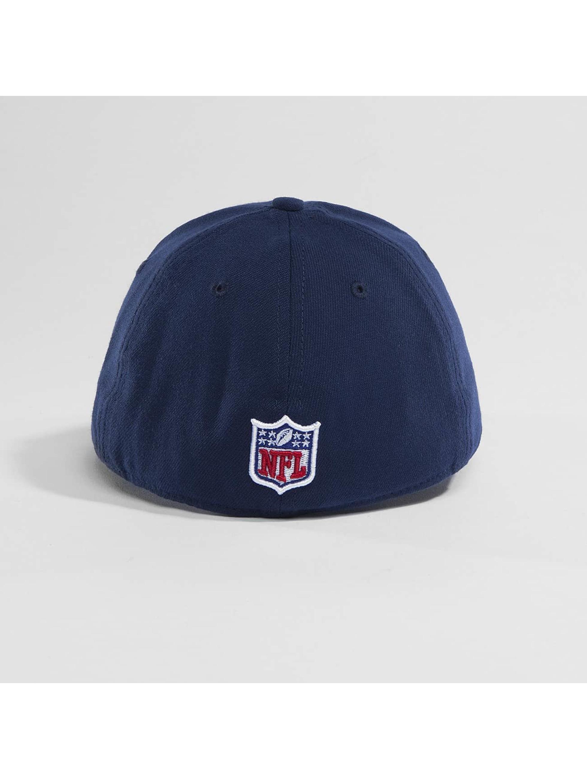 New Era Flexfitted Cap Team Poly New England Patriots 9Fifty niebieski