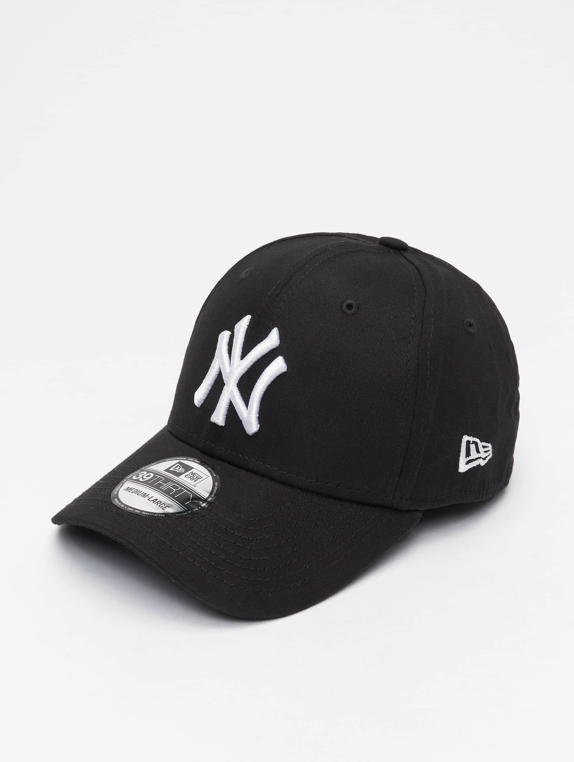Cap / Flexfitted Cap Classic NY Yankees 39Thirty in schwarz