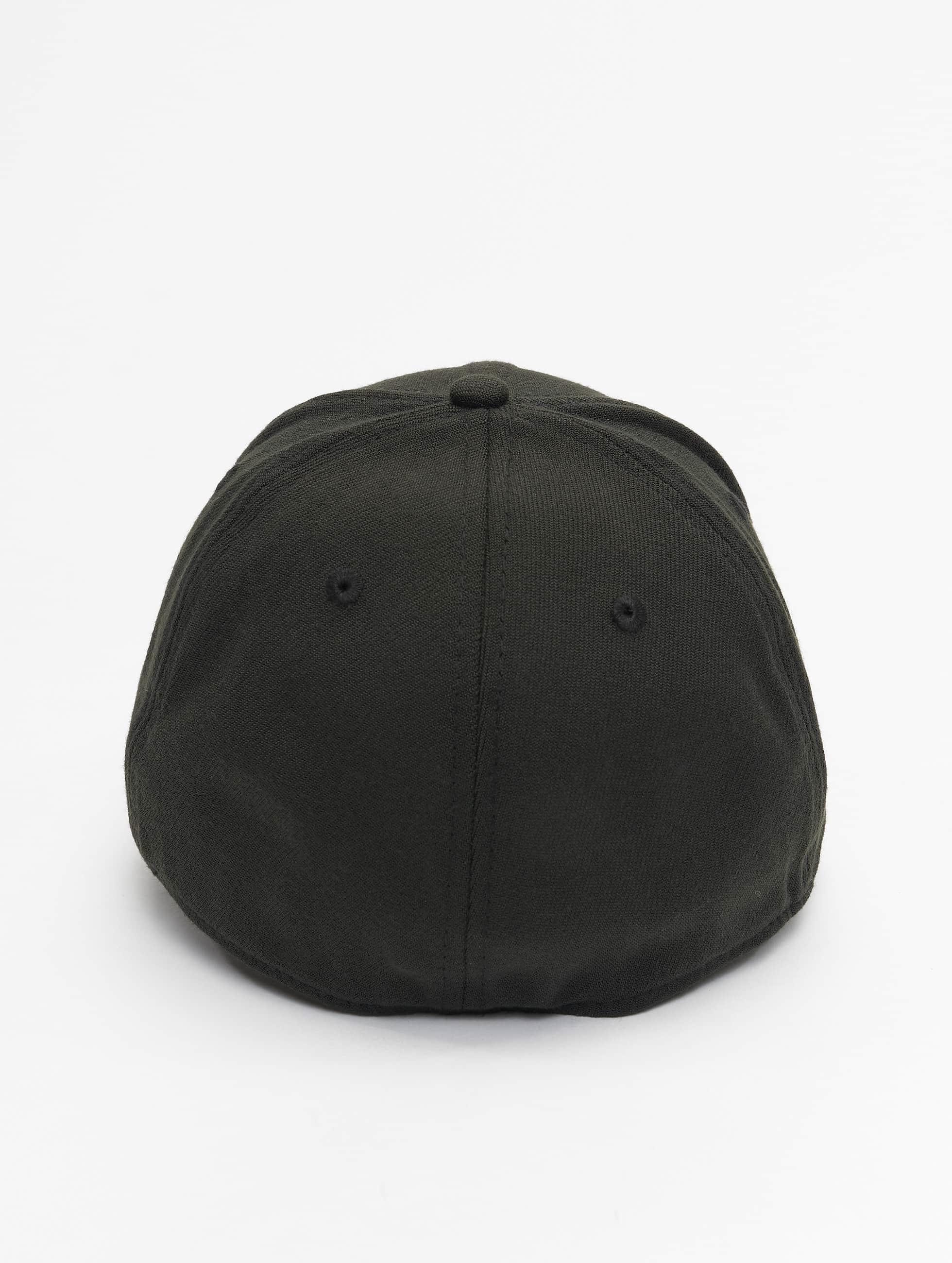 New Era Flexfitted Cap Basic zwart