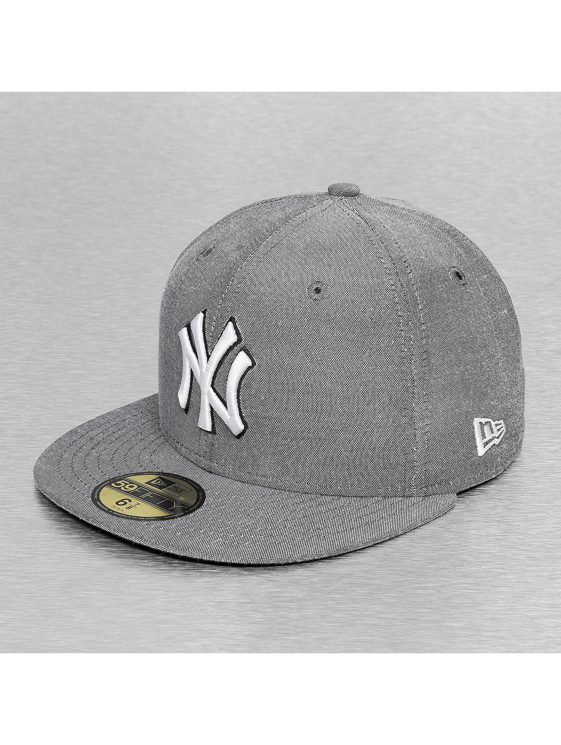 New Era Hip hop -lippikset Teamox NY Yankees harmaa