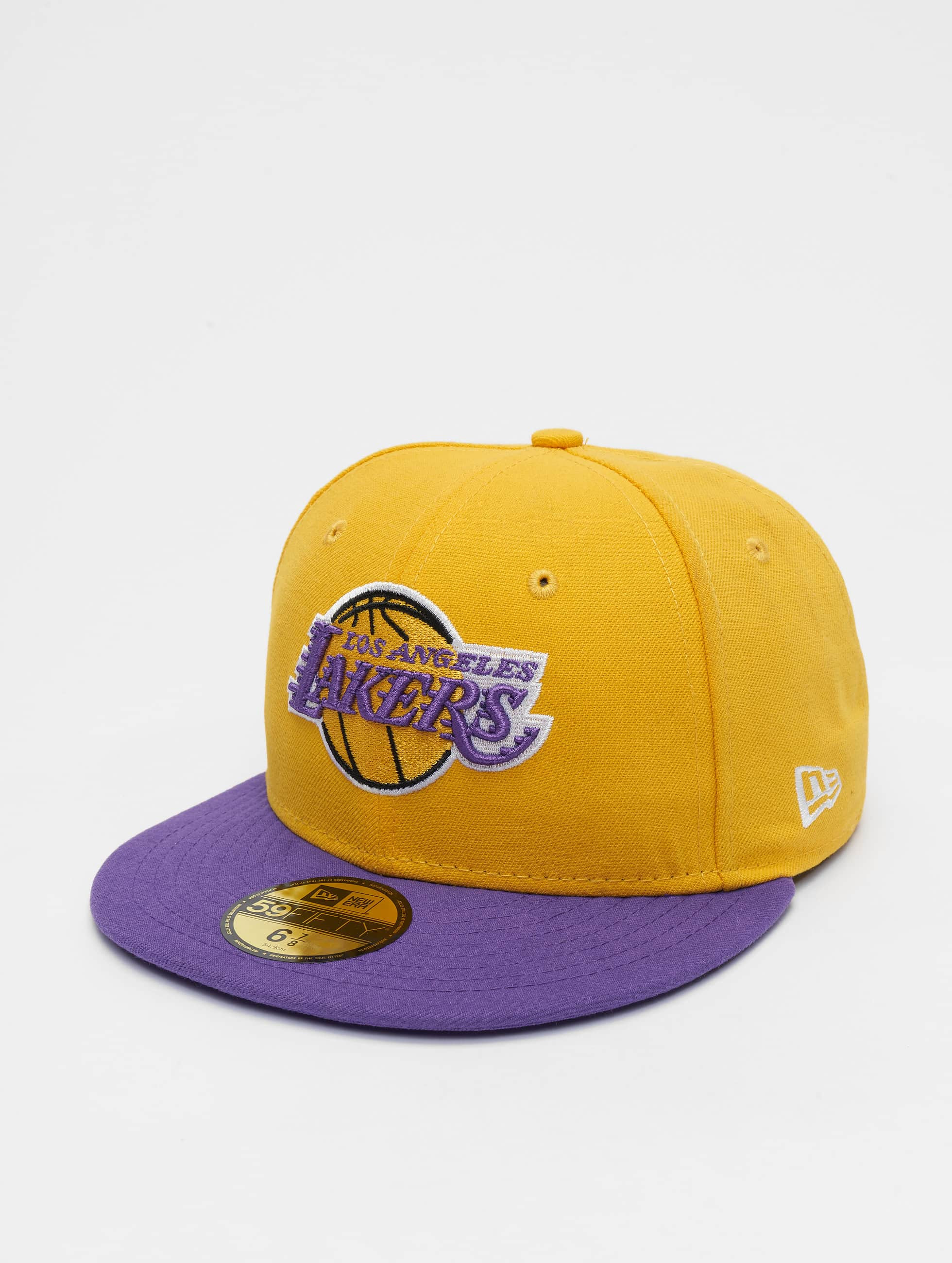 New Era Hip hop -lippikset NBA Basic LA Lakers 59Fifty keltainen
