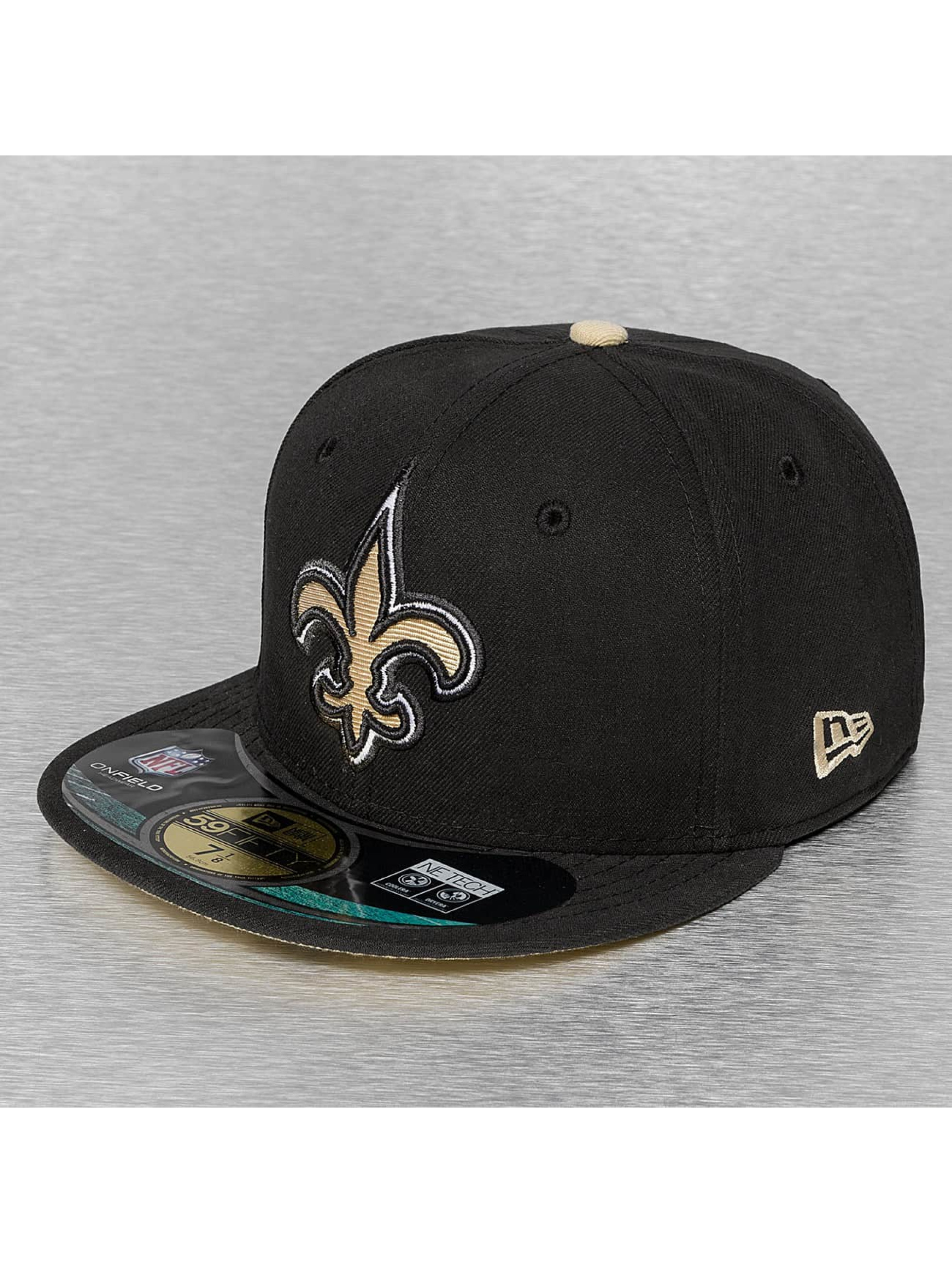 New Era Hip hop -lippikset NFL On Field New Orleans Saints 59Fifty musta