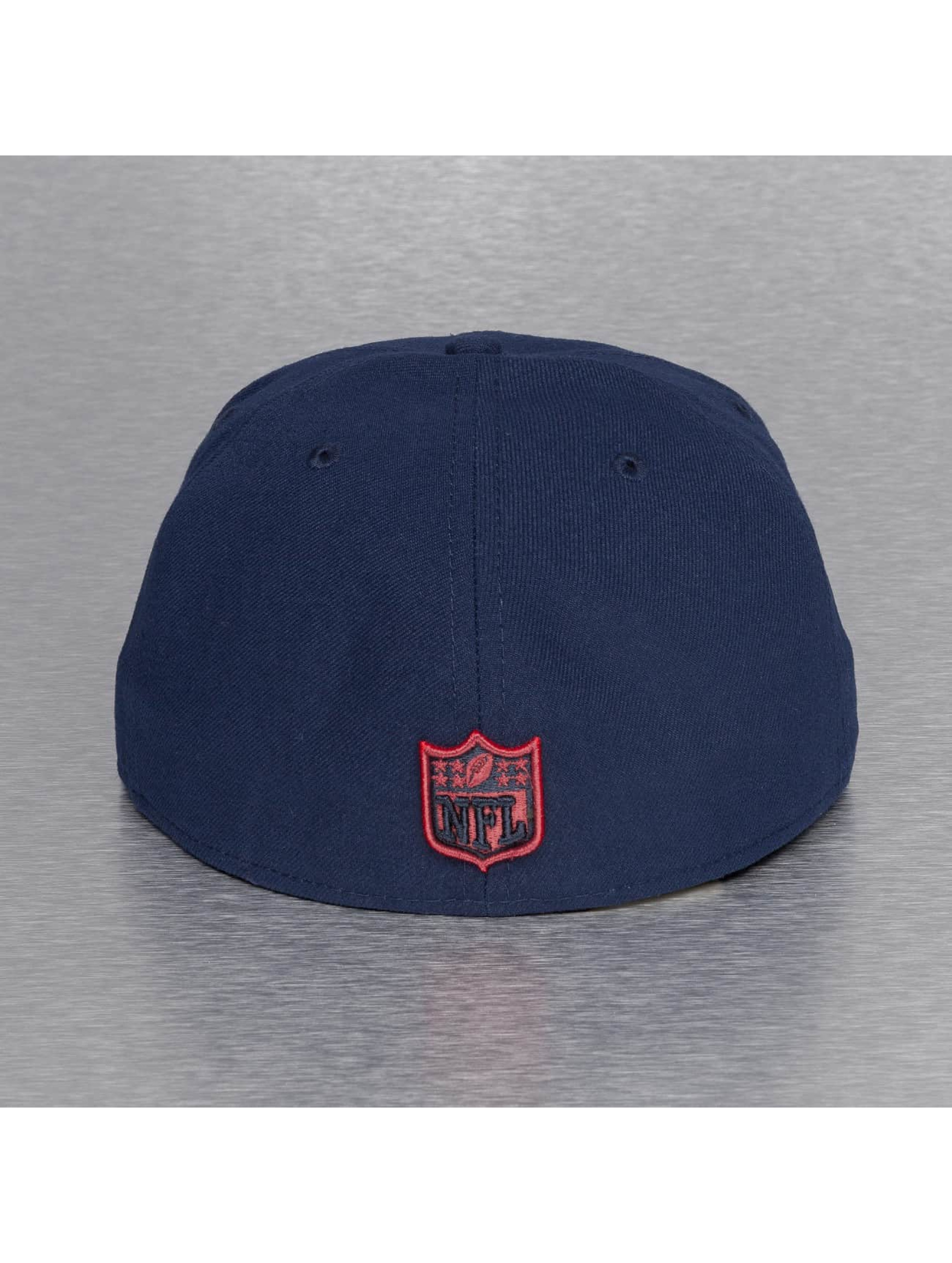 New Era Hip hop -lippikset On Field 15 Sideline New England Patriots sininen