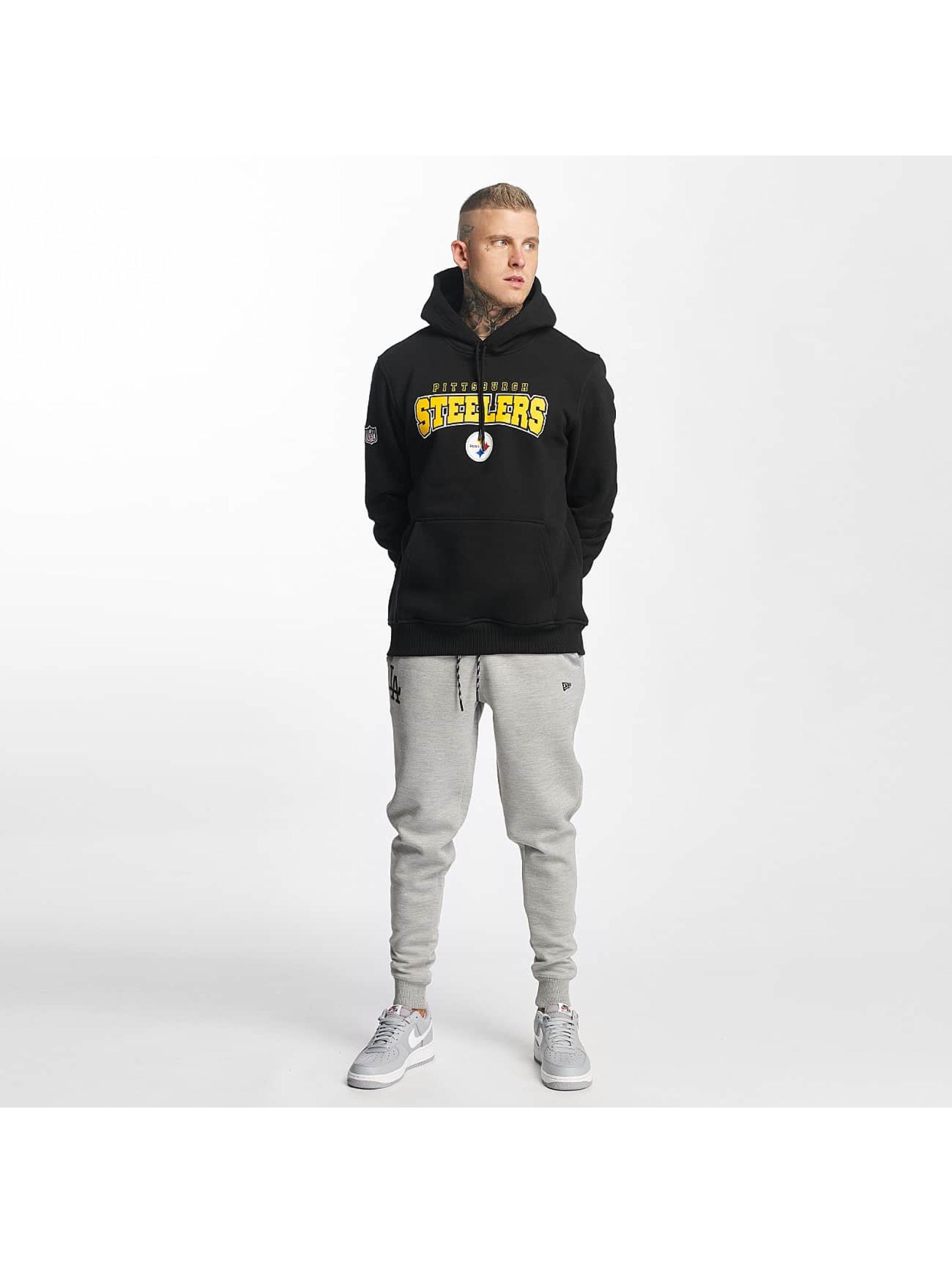 New Era Hoodie NFL Ultra Fan Pittsburgh Steelers black