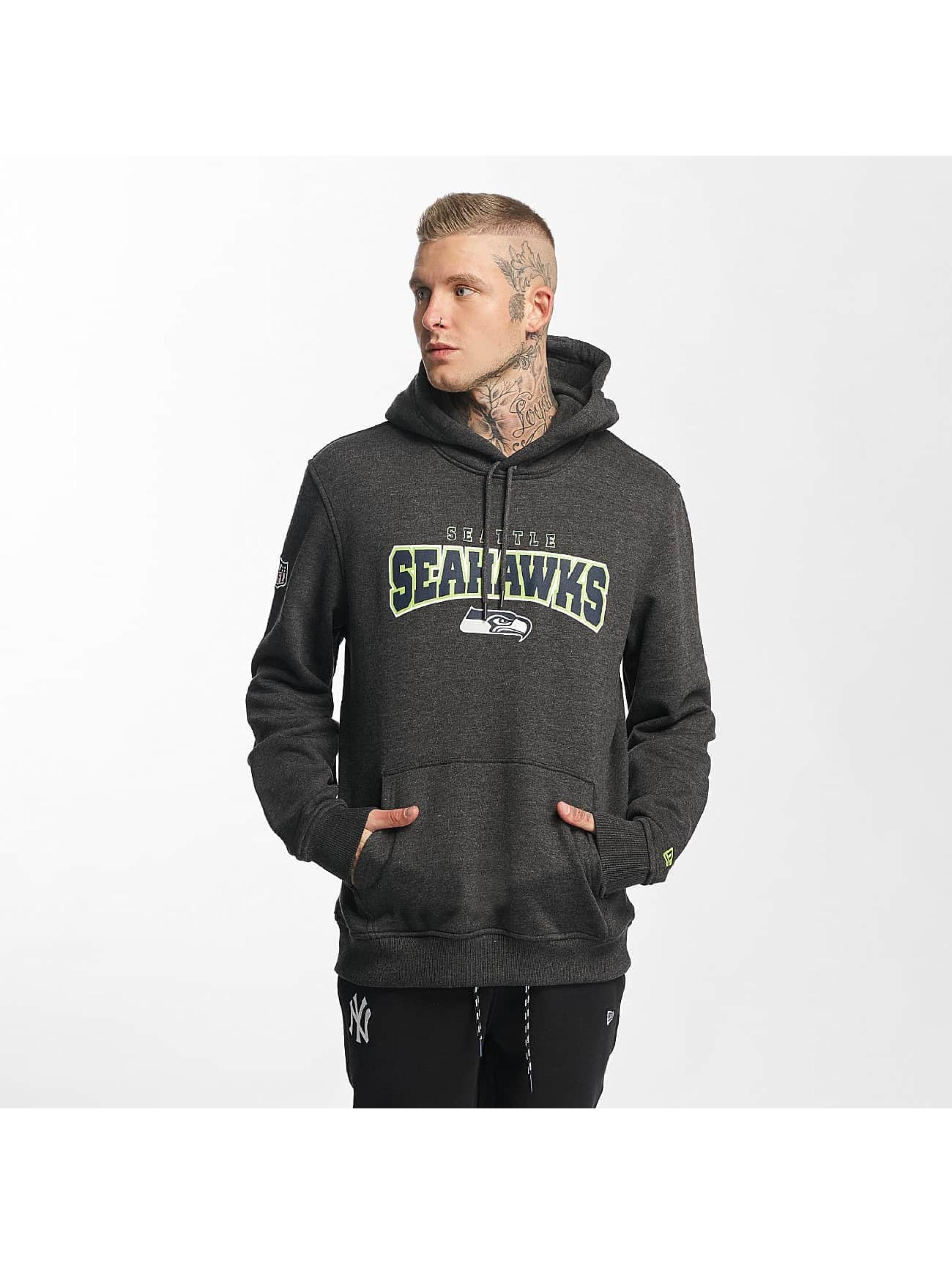 New Era Hoody NFL Ultra Fan Seattle Seahawks grau