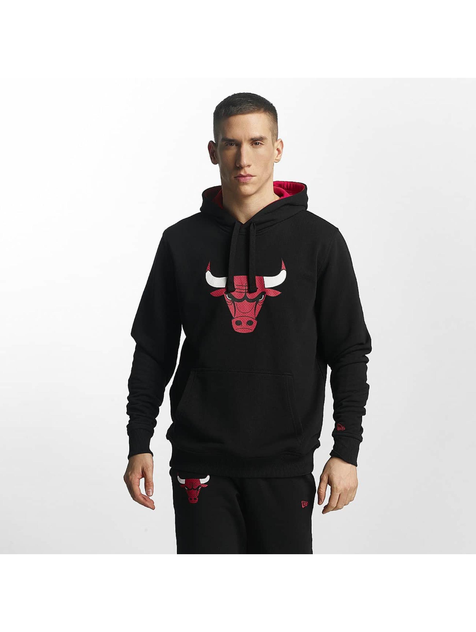 New Era Hoody Chicago Bulls schwarz