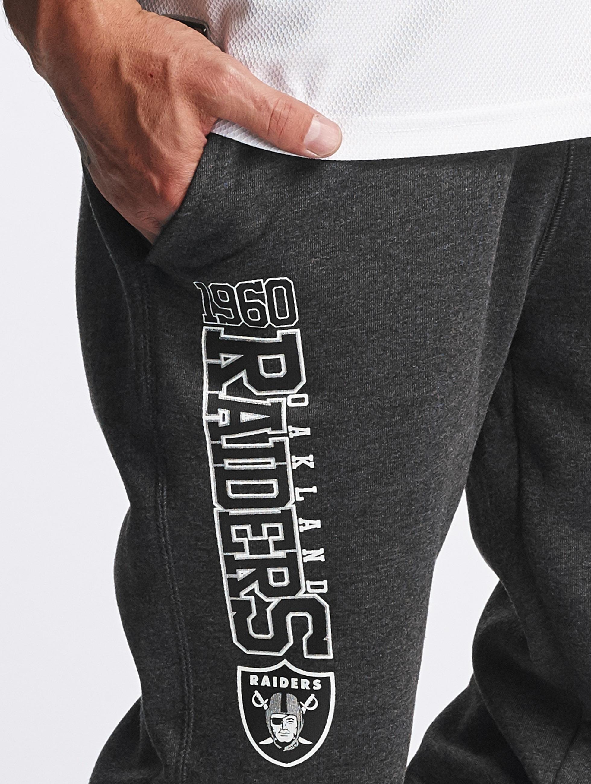 New Era Jogging Team Wordmark Oakland Raiders Tracker gris