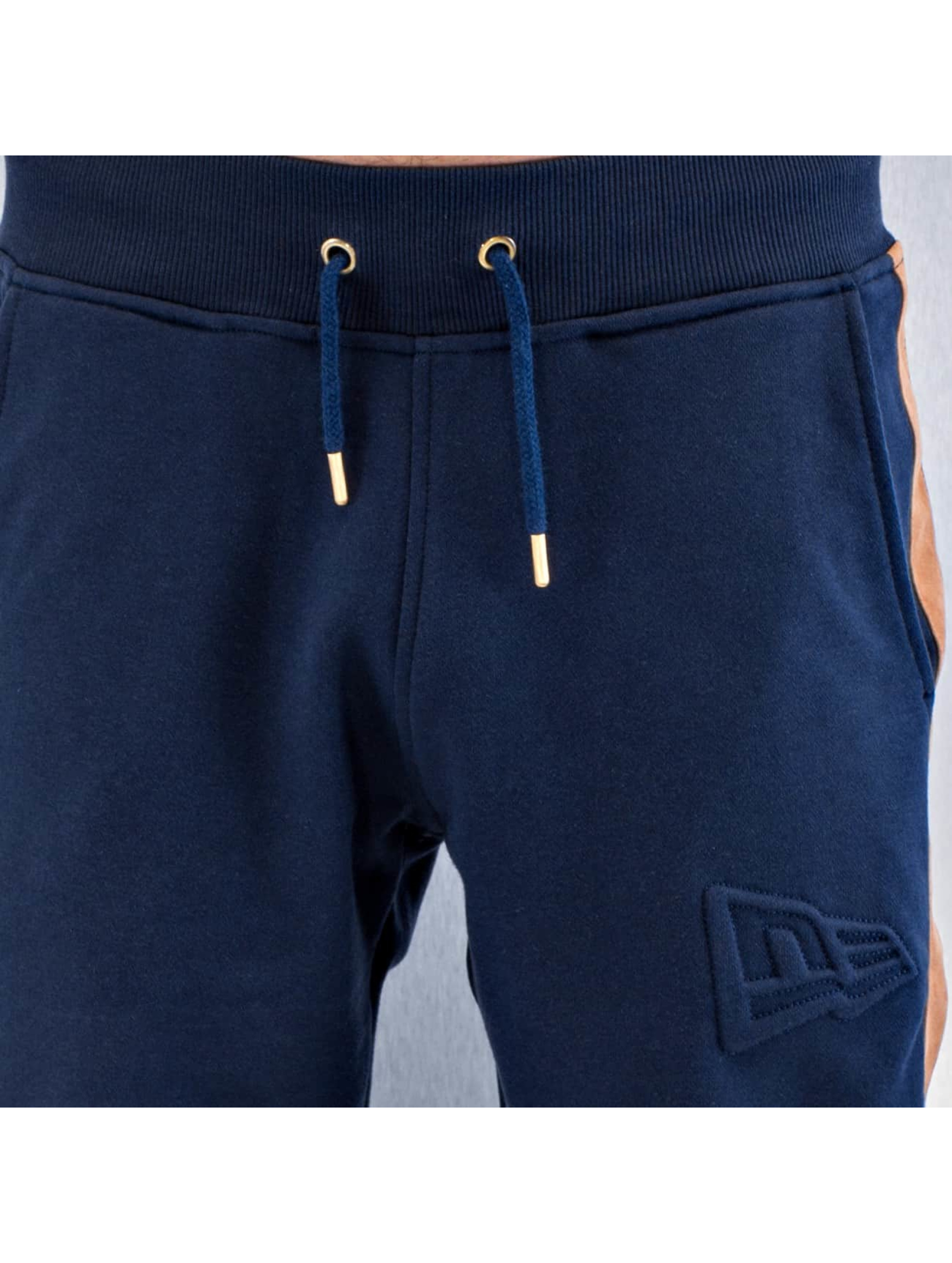 New Era joggingbroek Crafted blauw