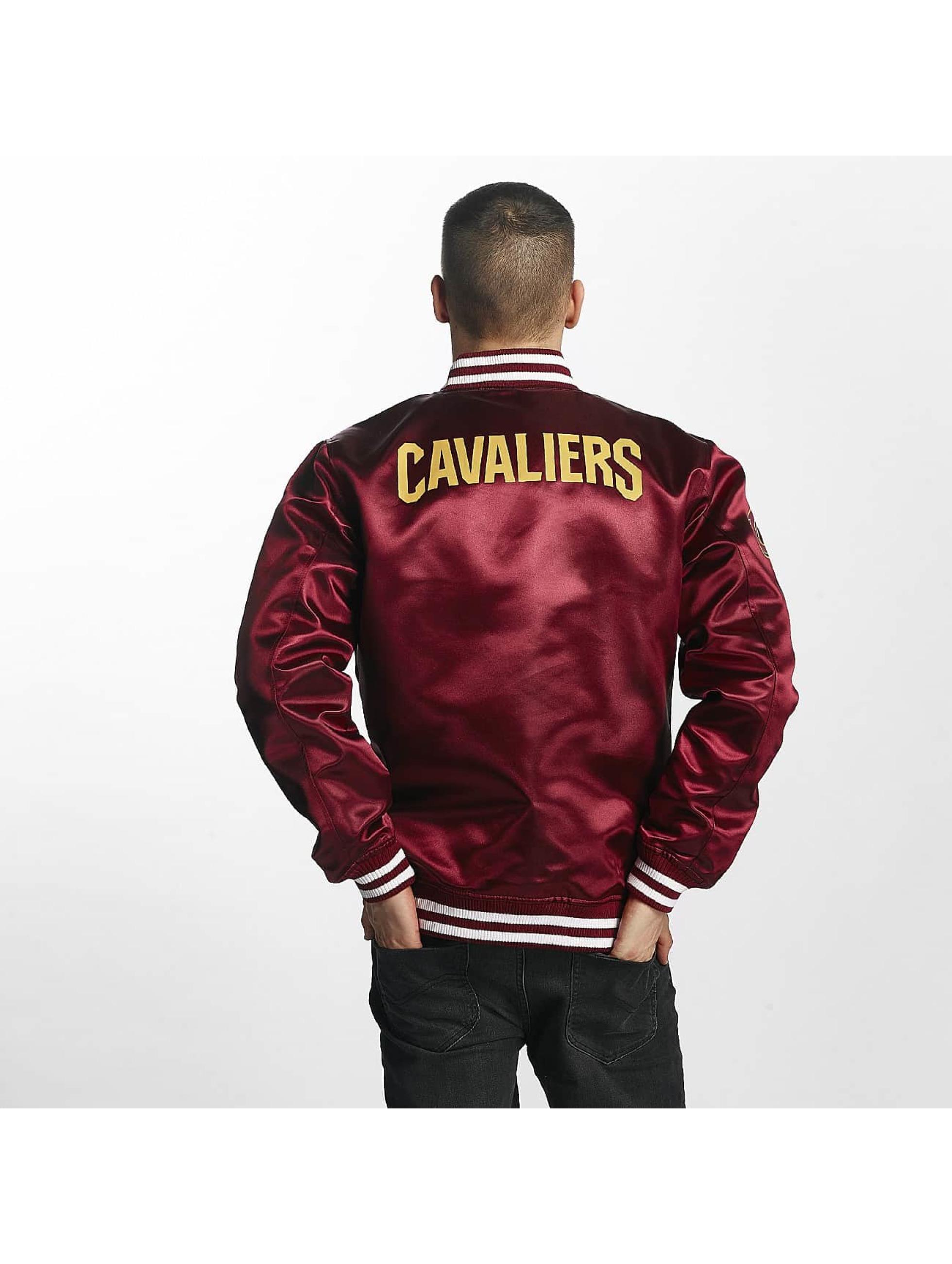 New Era Kurtka pilotka Cleveland Cavaliers czerwony