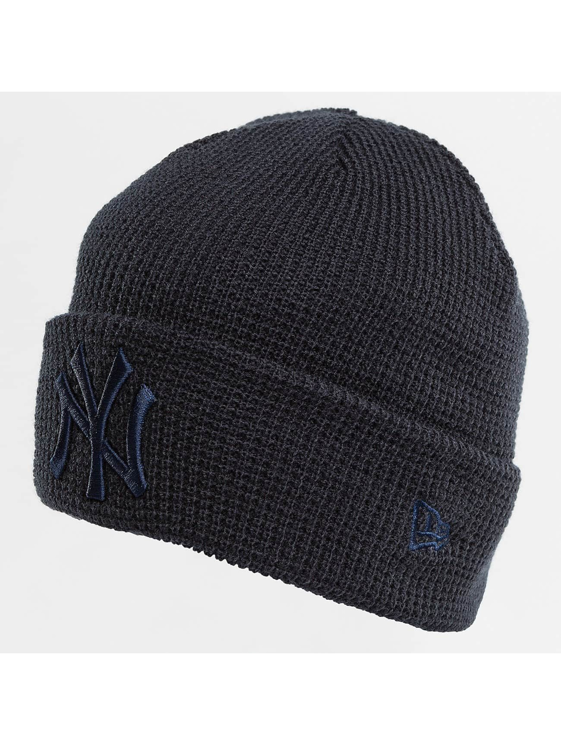 New Era Luer New Era Essential Waffle Knit NY Yankees Beanie blå
