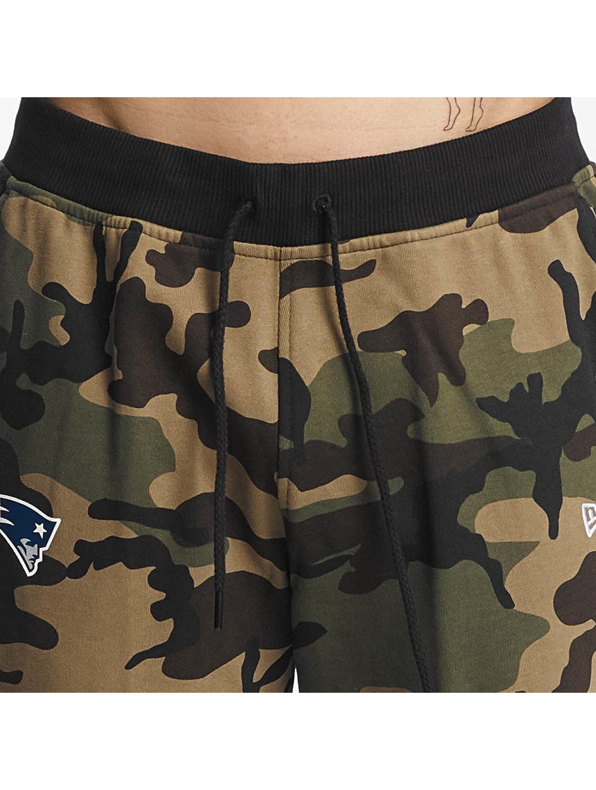 New Era Pantalón deportivo Woodland New England Patriots camuflaje