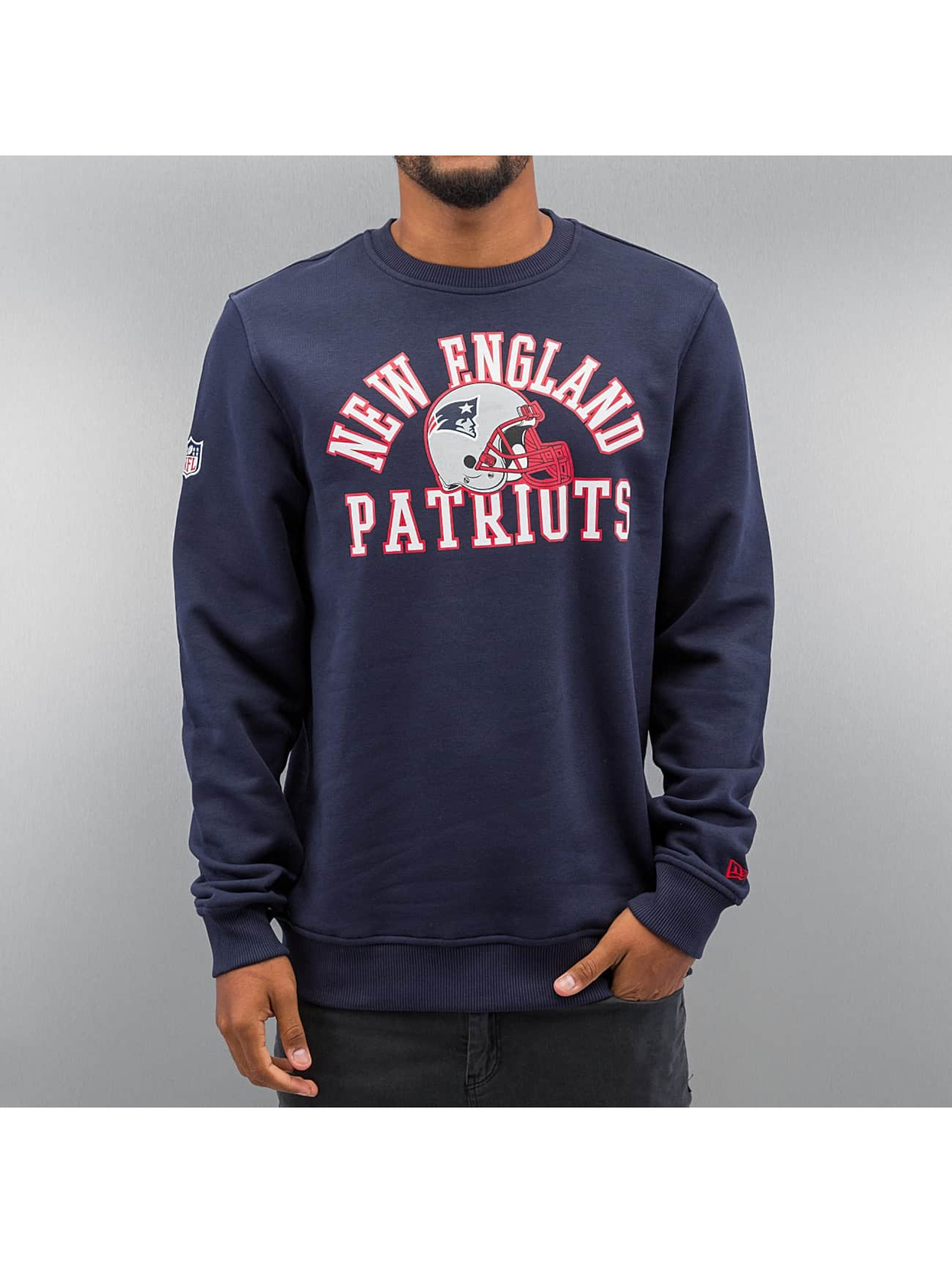 New Era Pullover NFL New England Patriots College blau