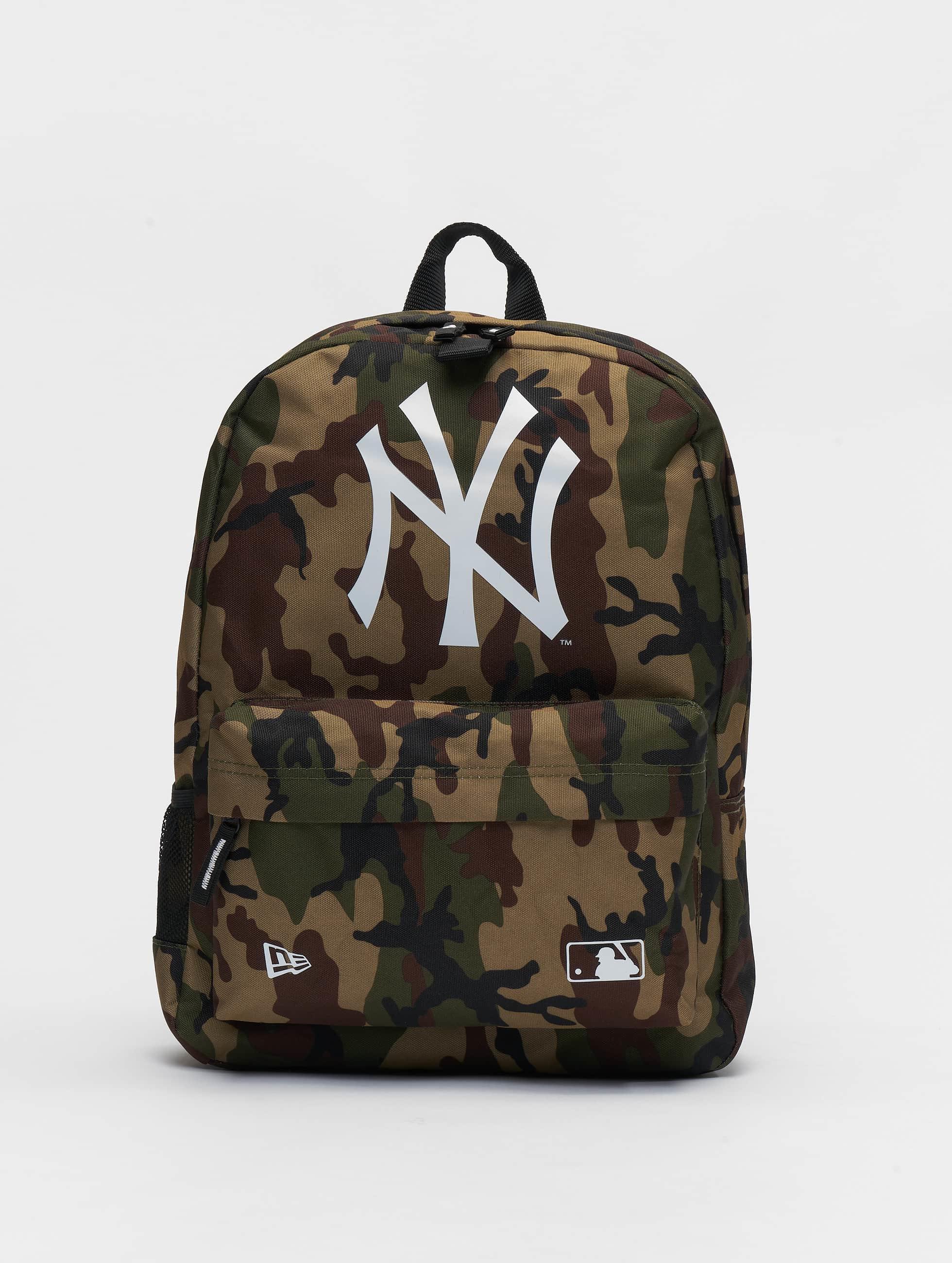New Era MLB New York Yankees Stadium Backpack Woodland Camo
