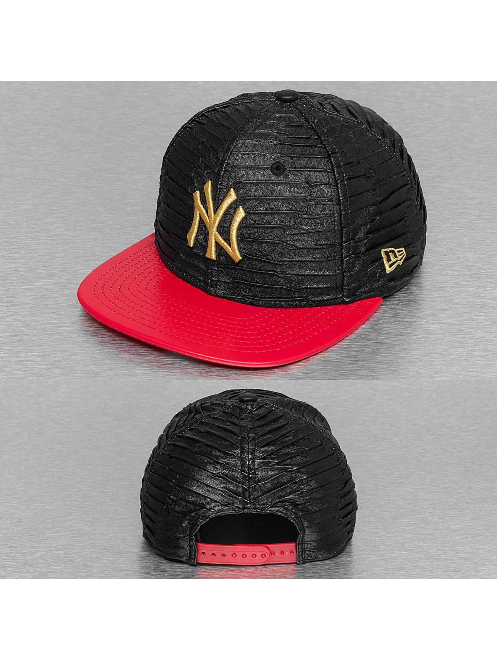New Era Snapback Leather Wave New York Yankees èierna