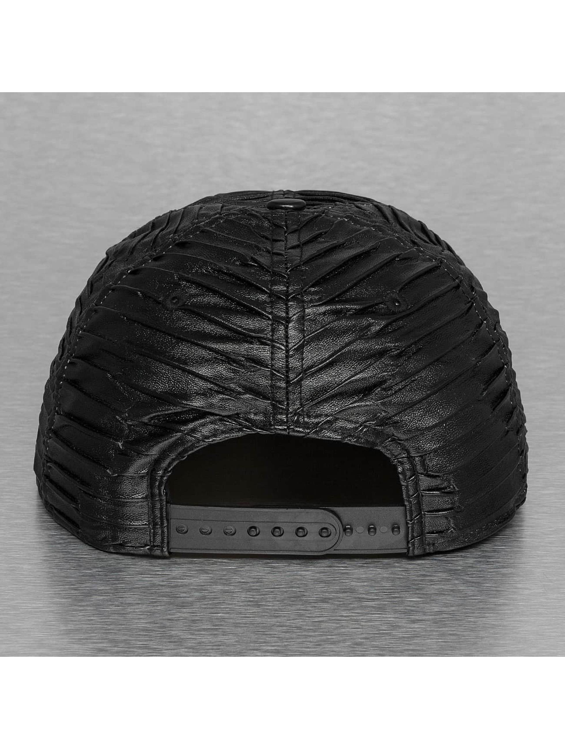 New Era Snapback Leather Wave Atlanta Braves šedá