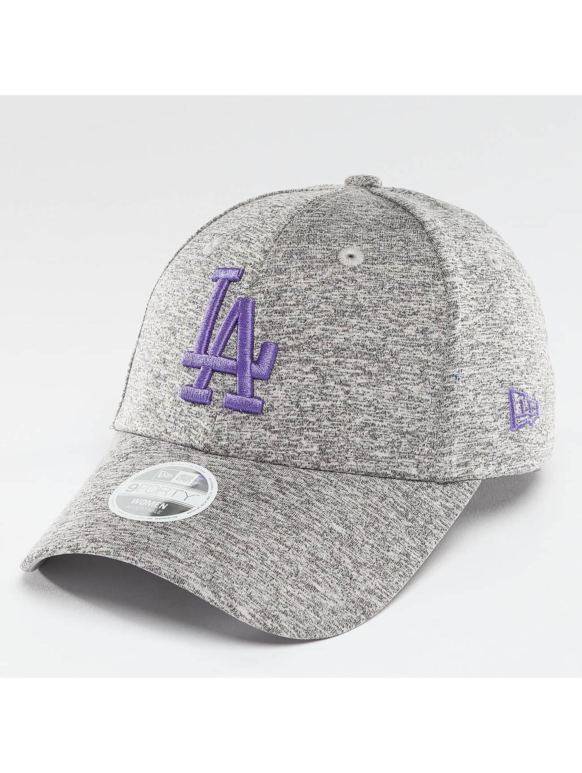 New Era Snapback Tech Jersey LA Dodgers  9Forty šedá