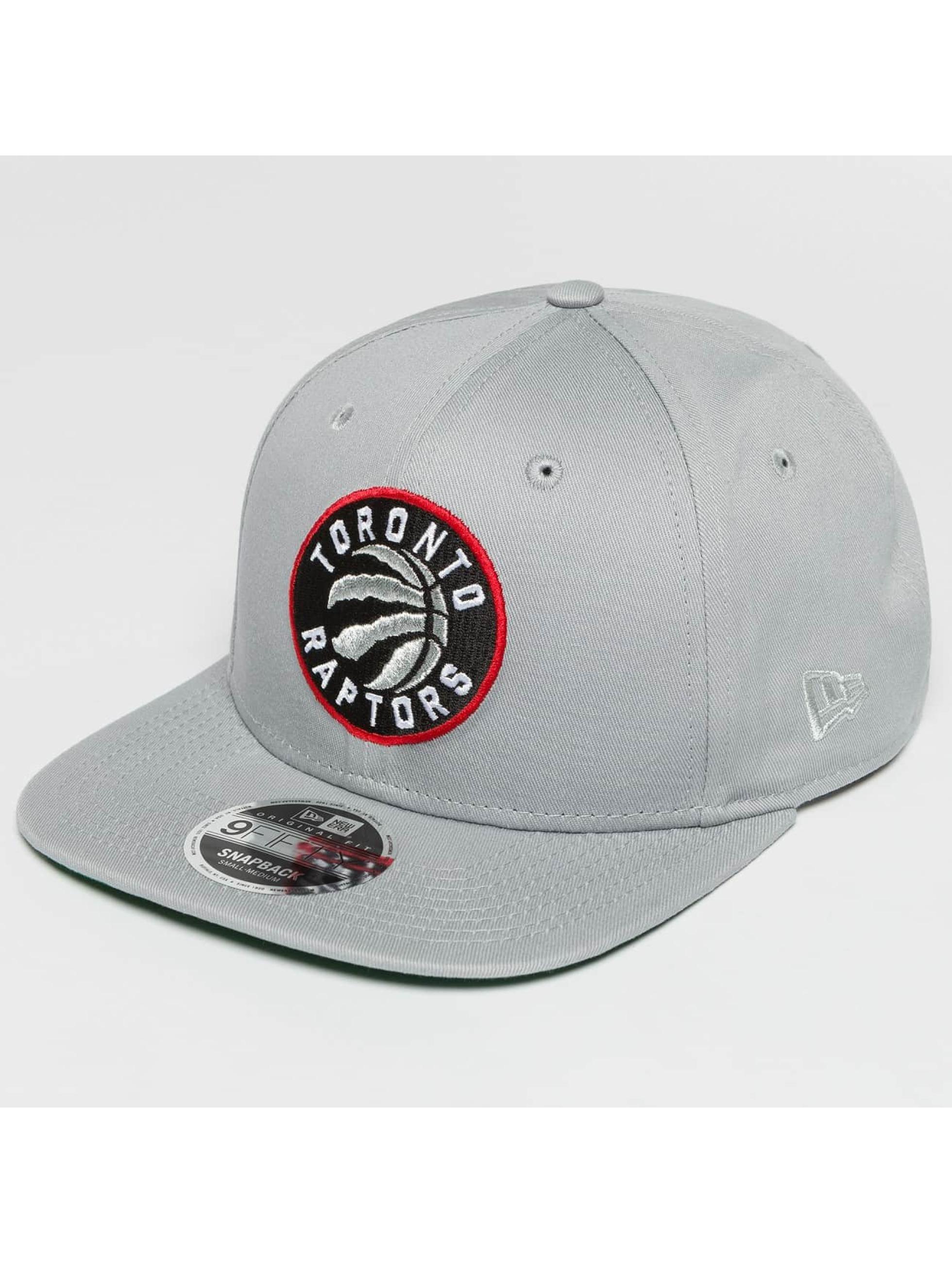 New Era Snapback NBA Classic Toronto Raptors šedá