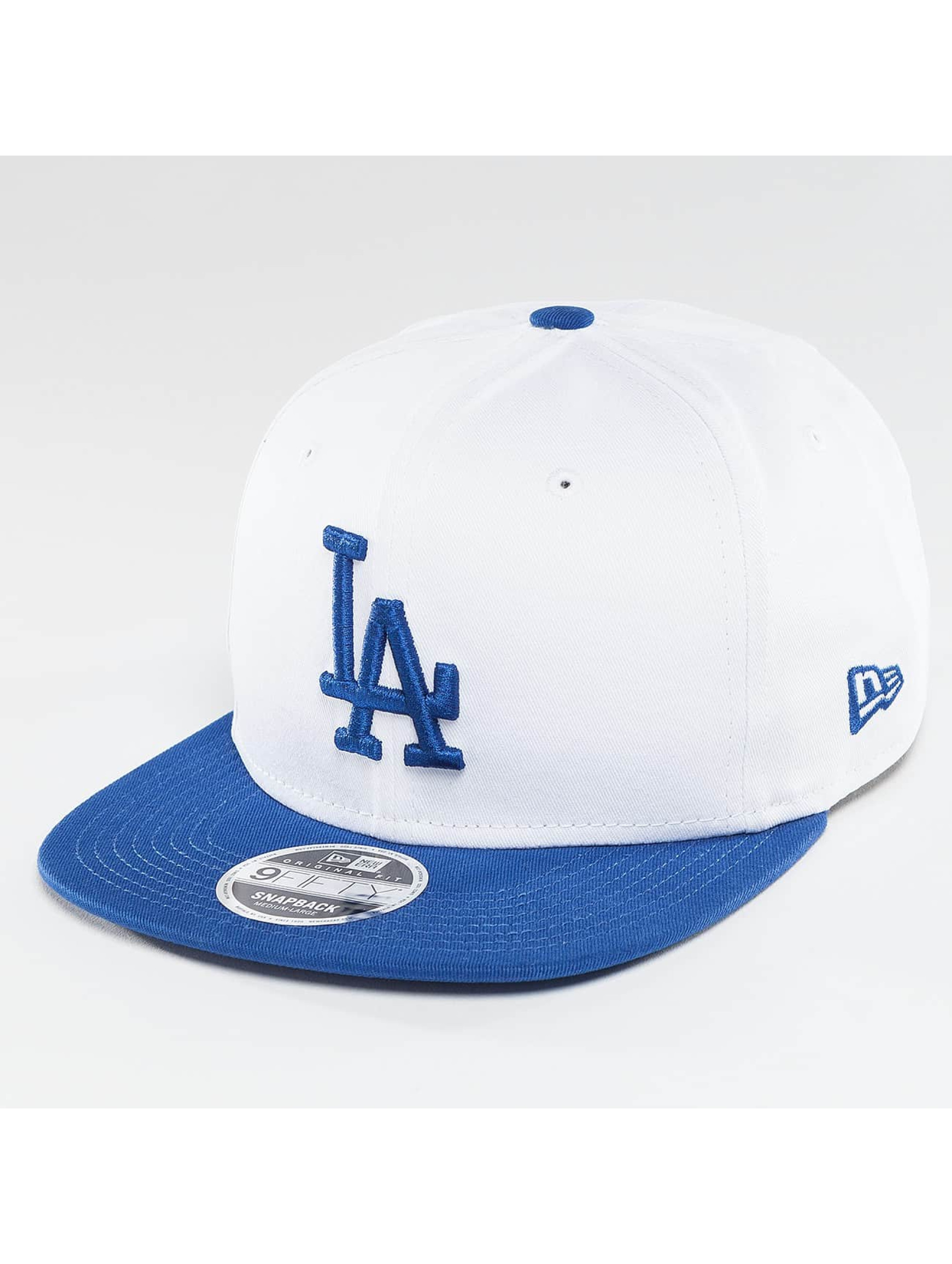 New Era Snapback Contrast Crown LA Dodgers 9Fifty biela