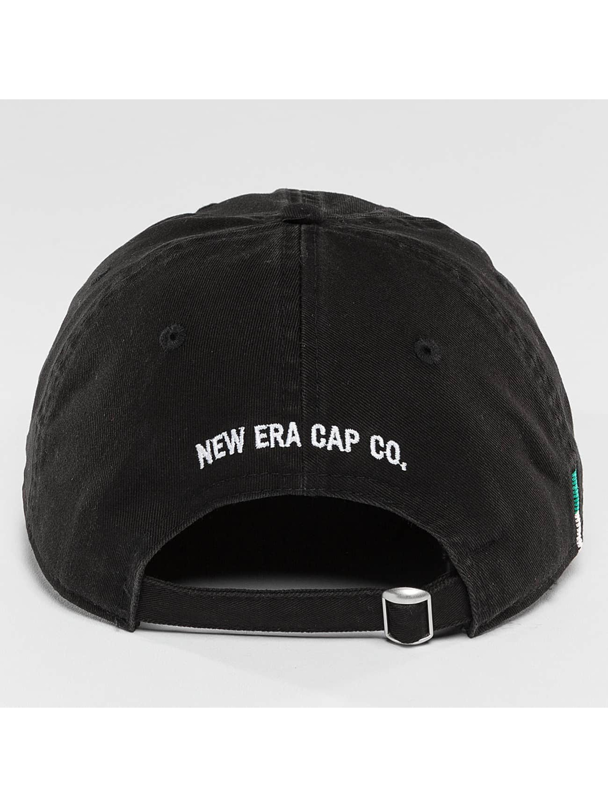 New Era Snapback Cap Sunbleach Unstructured 9Fifty black