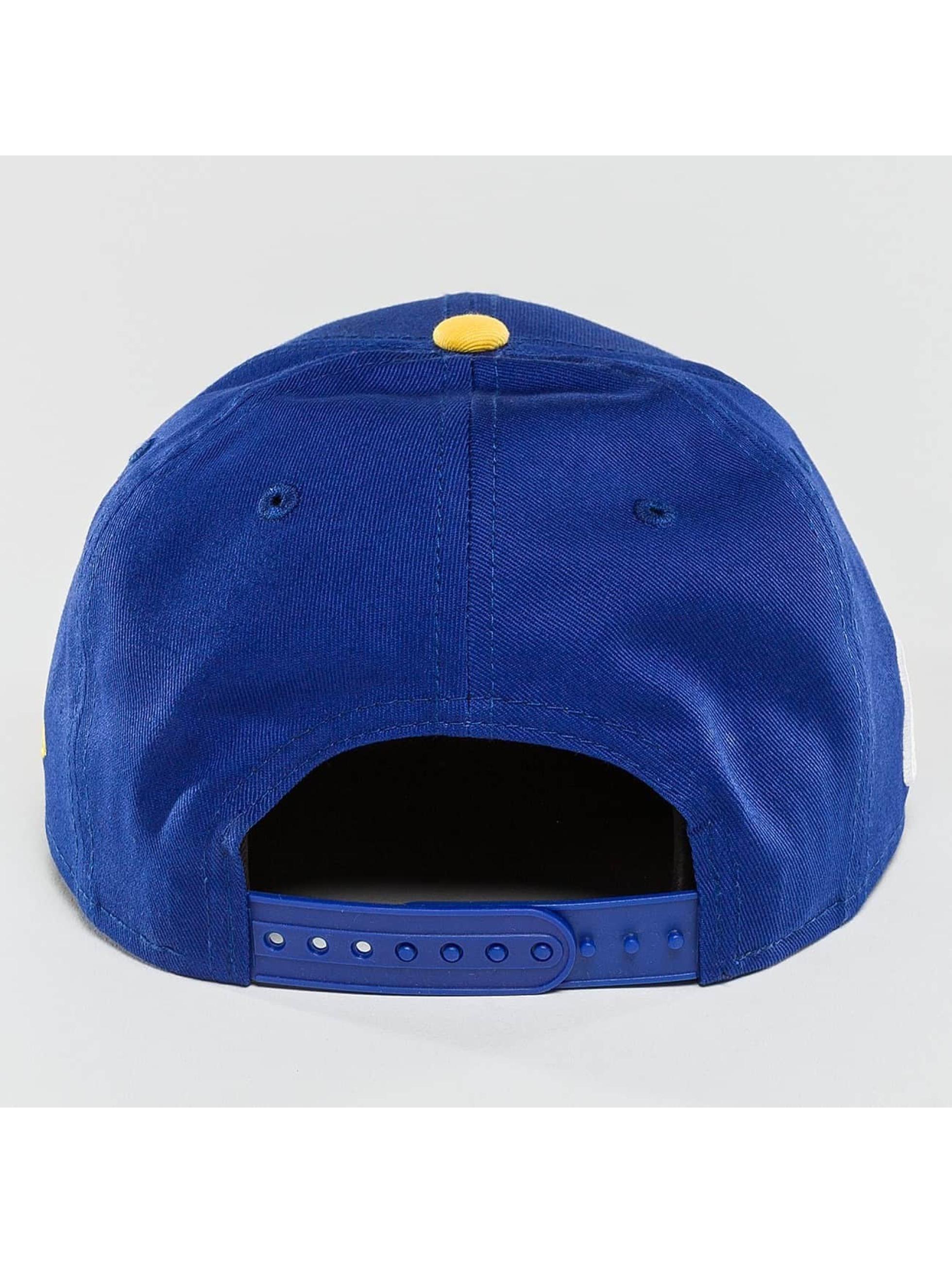 New Era Snapback Cap NBA Team Golden State Warriors blau
