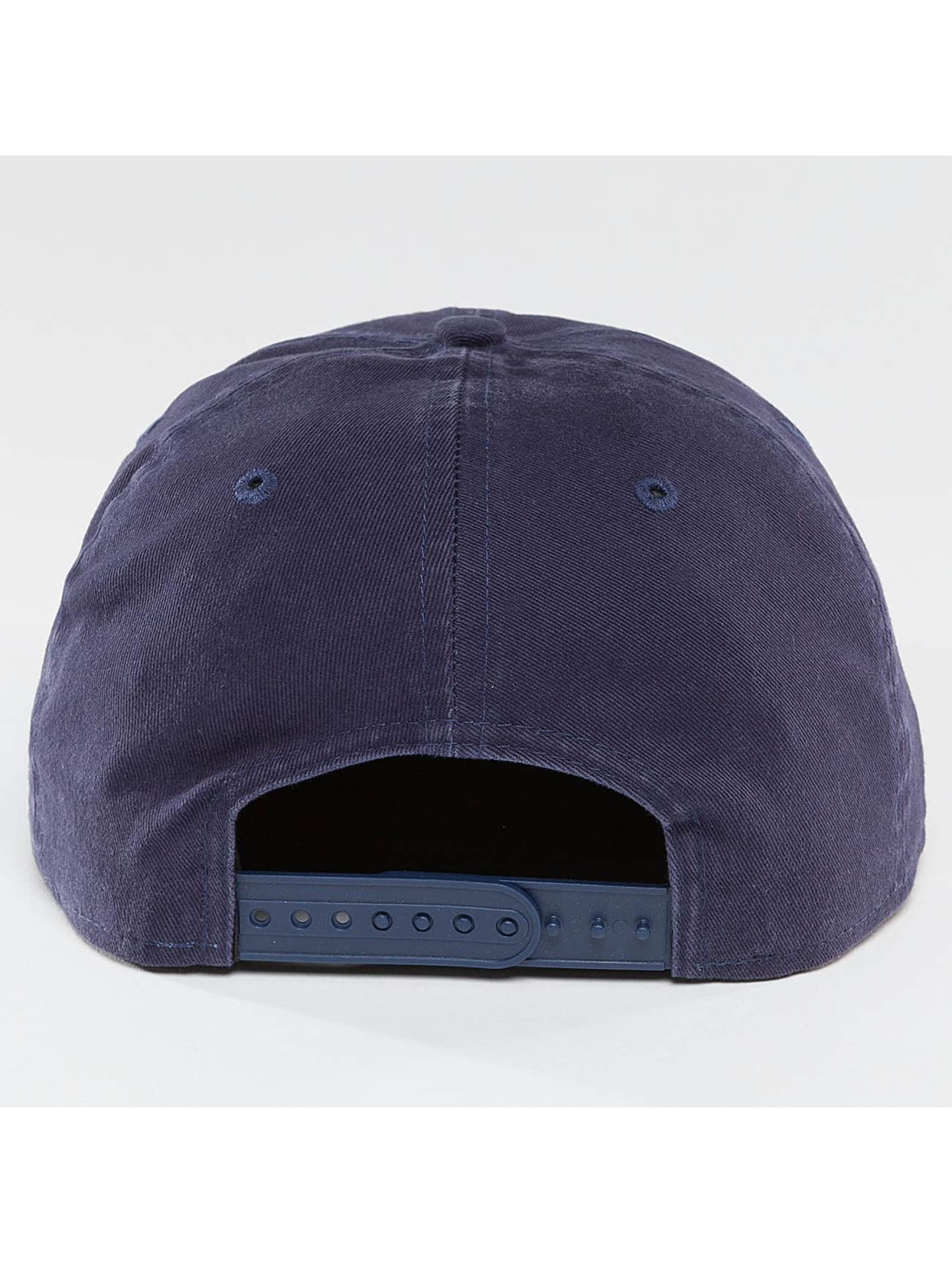 New Era Snapback Cap Sandwash Visor Print NY Yankees blue