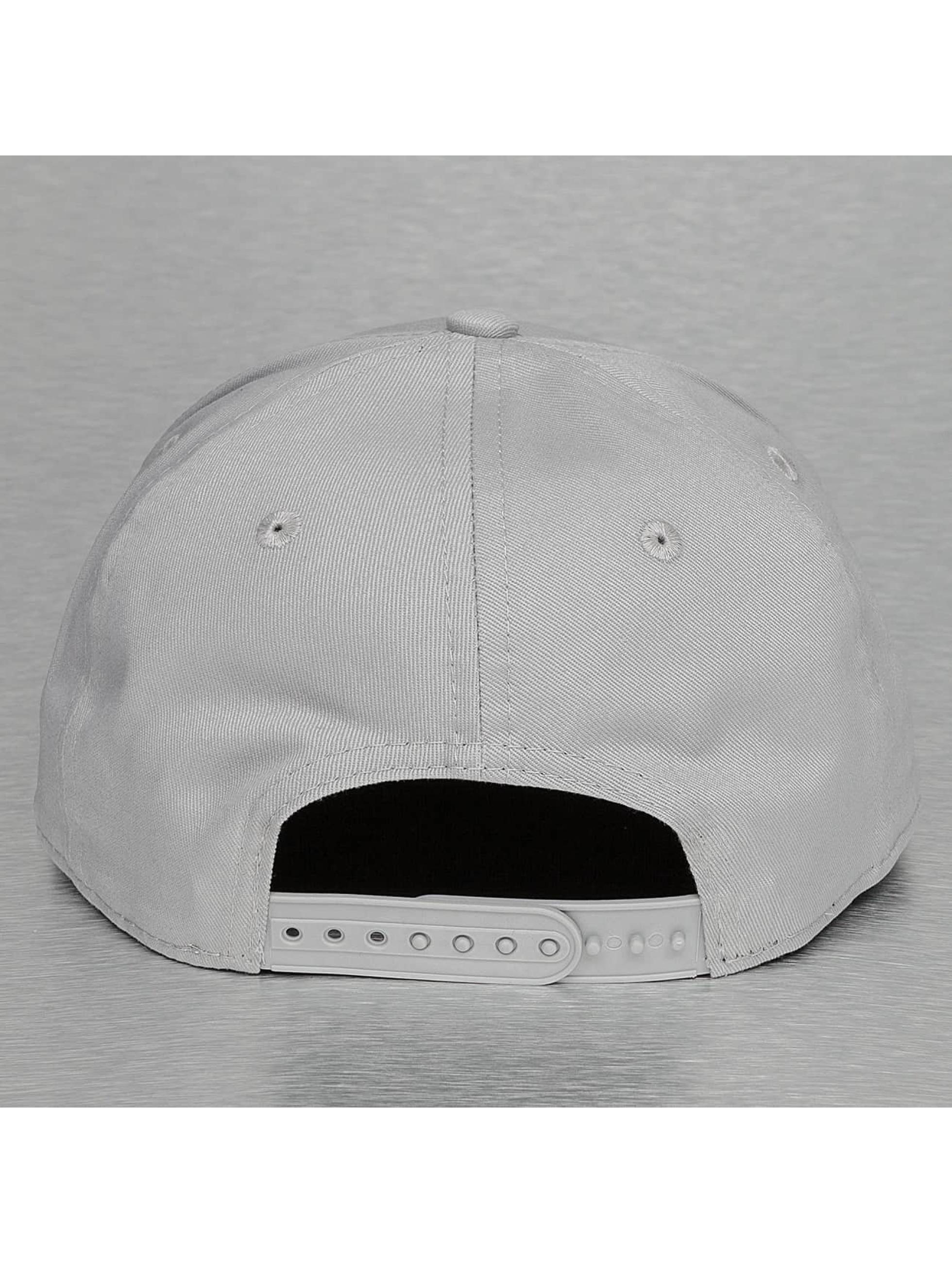 New Era Snapback Cap Rubber Logo LA Kings 9Fifty grau