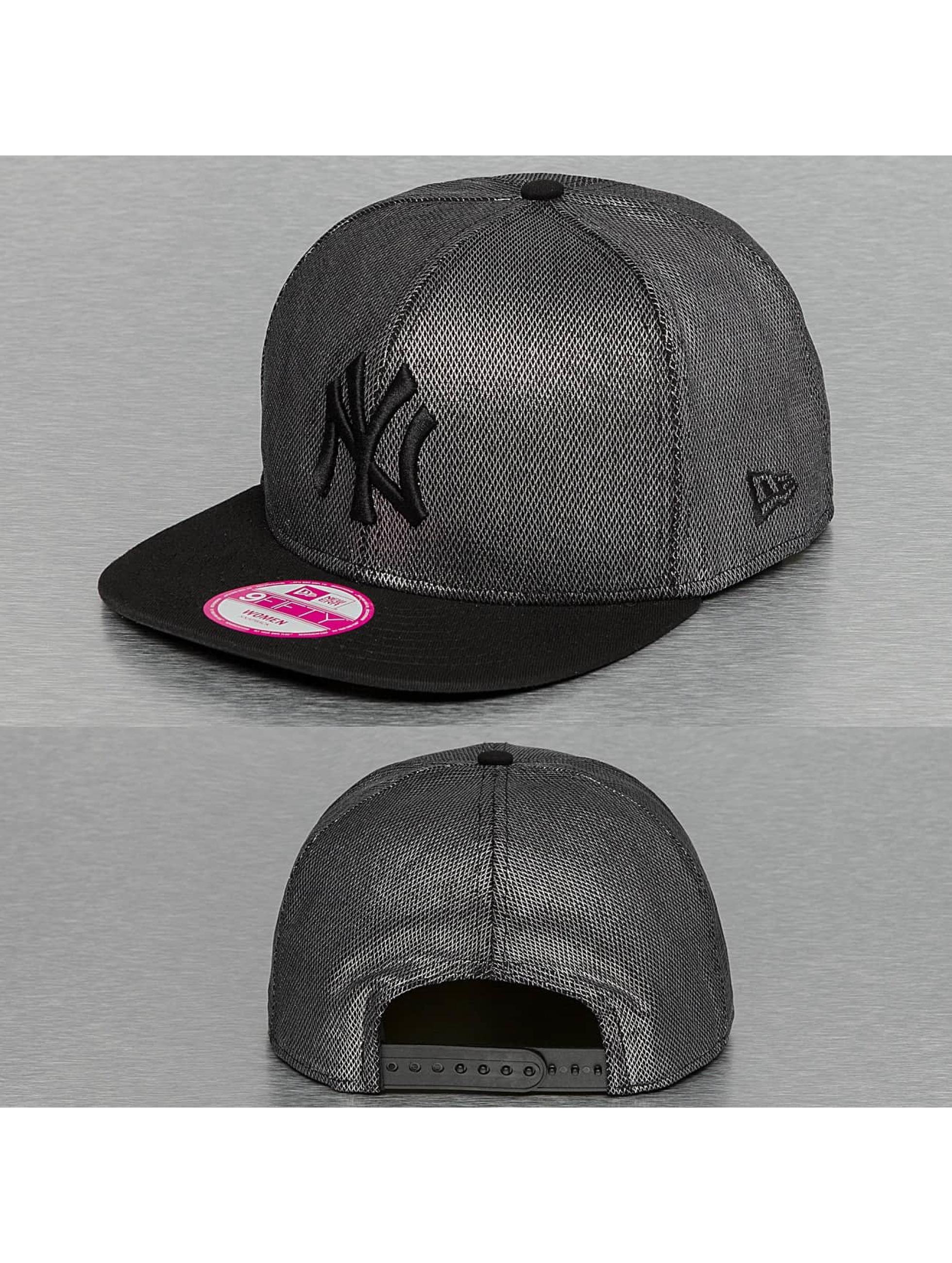 New Era Snapback Cap Twinkle Crown New York Yankees grau