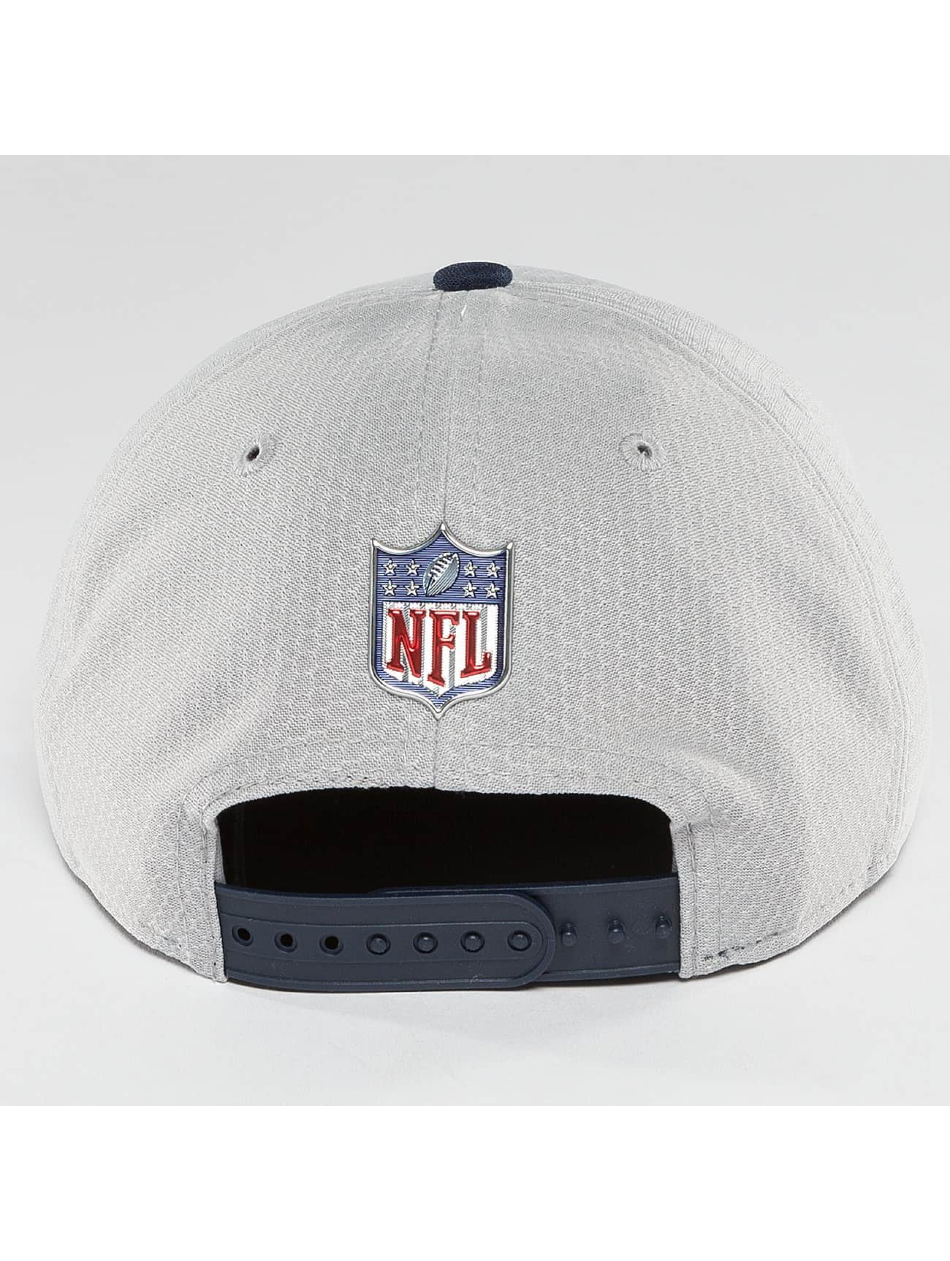 New Era Snapback Cap NFL On Field New England Patriots grau