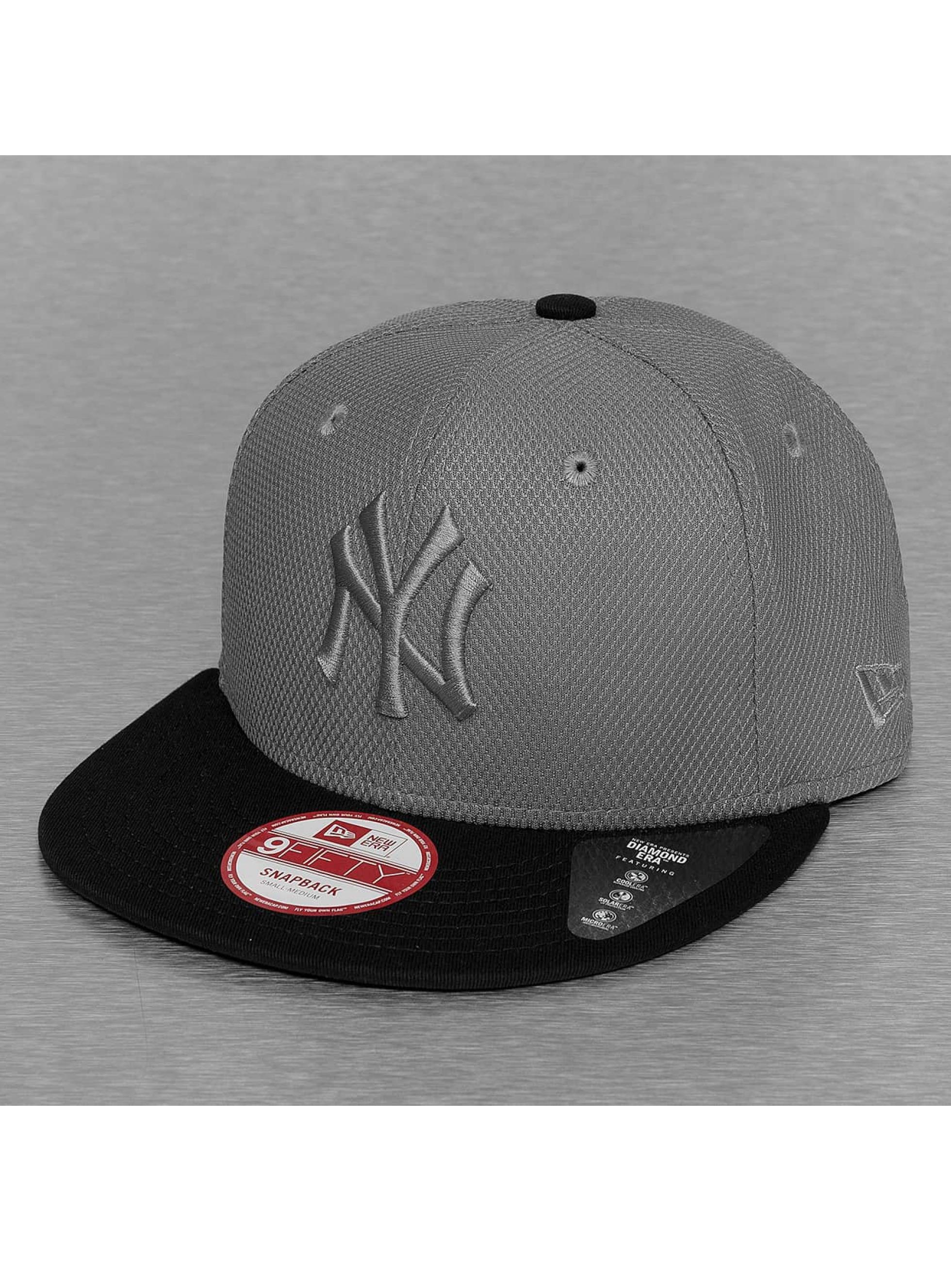 New Era Snapback Cap Diamond Era Mix NY Yankees gray