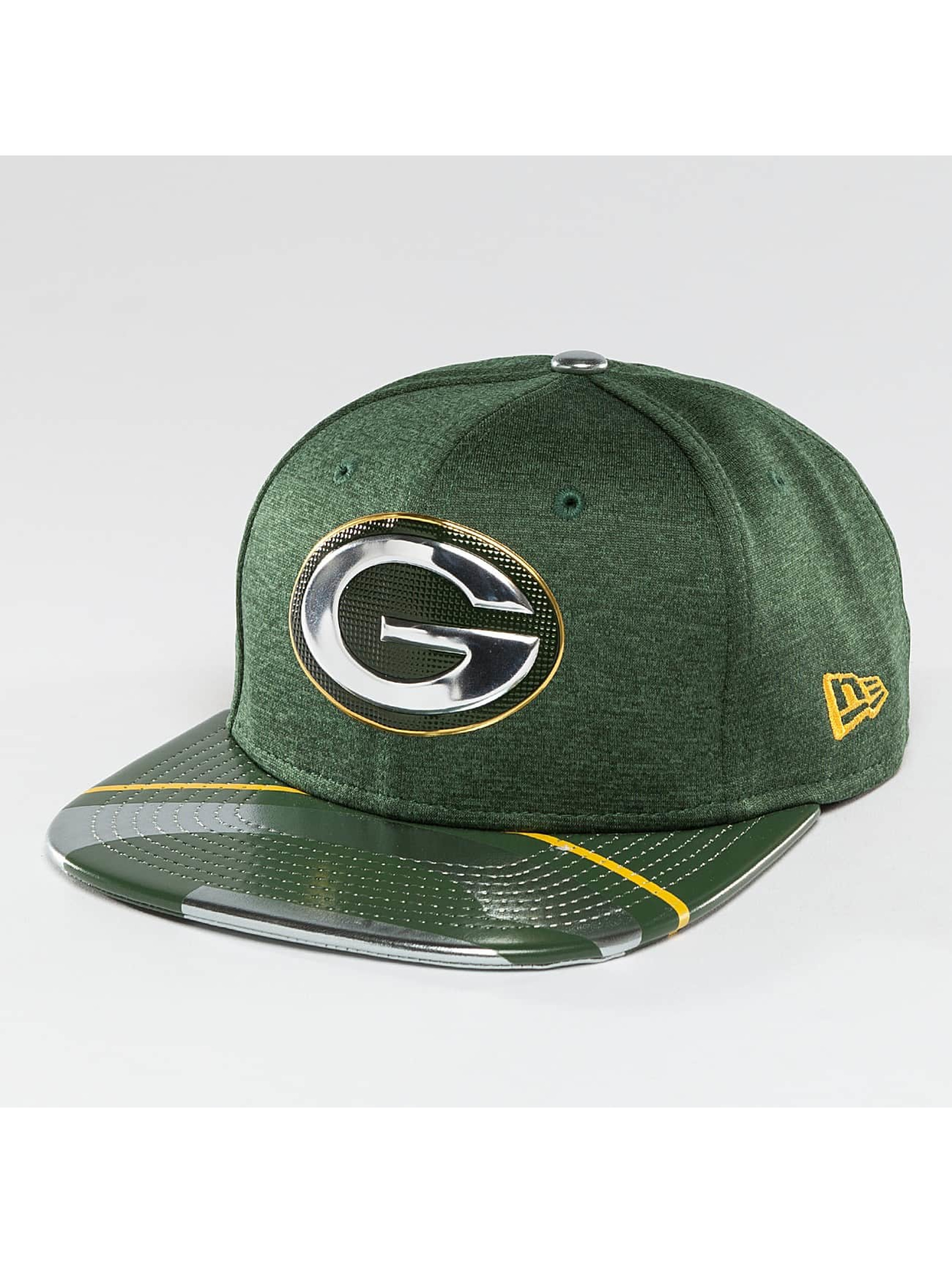New Era Snapback Cap NFL Offical On Stage Green Bay Packers 9Fifty green