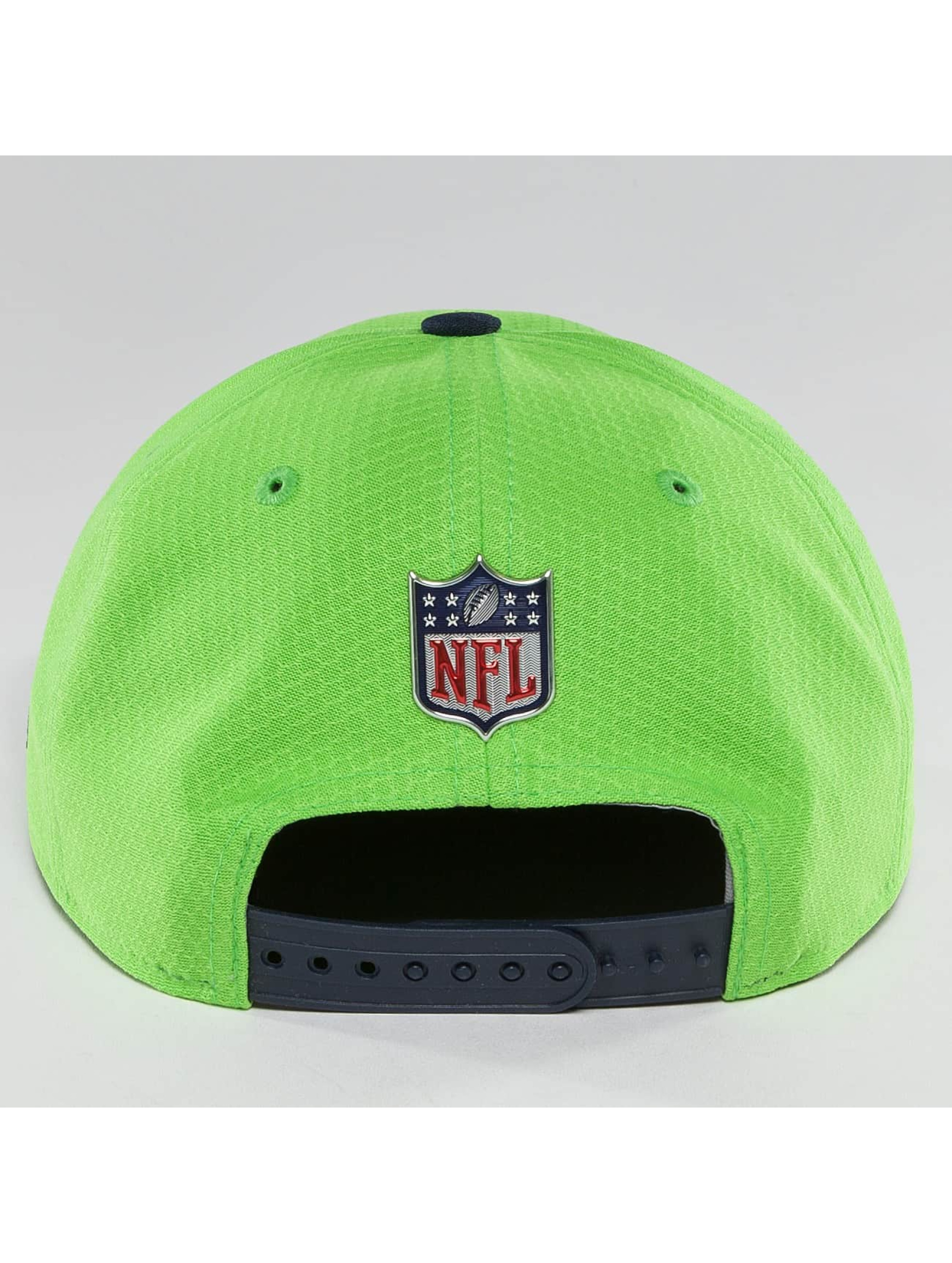 New Era Snapback Cap NFL On Field Seattle Seahawks 9Fifty green