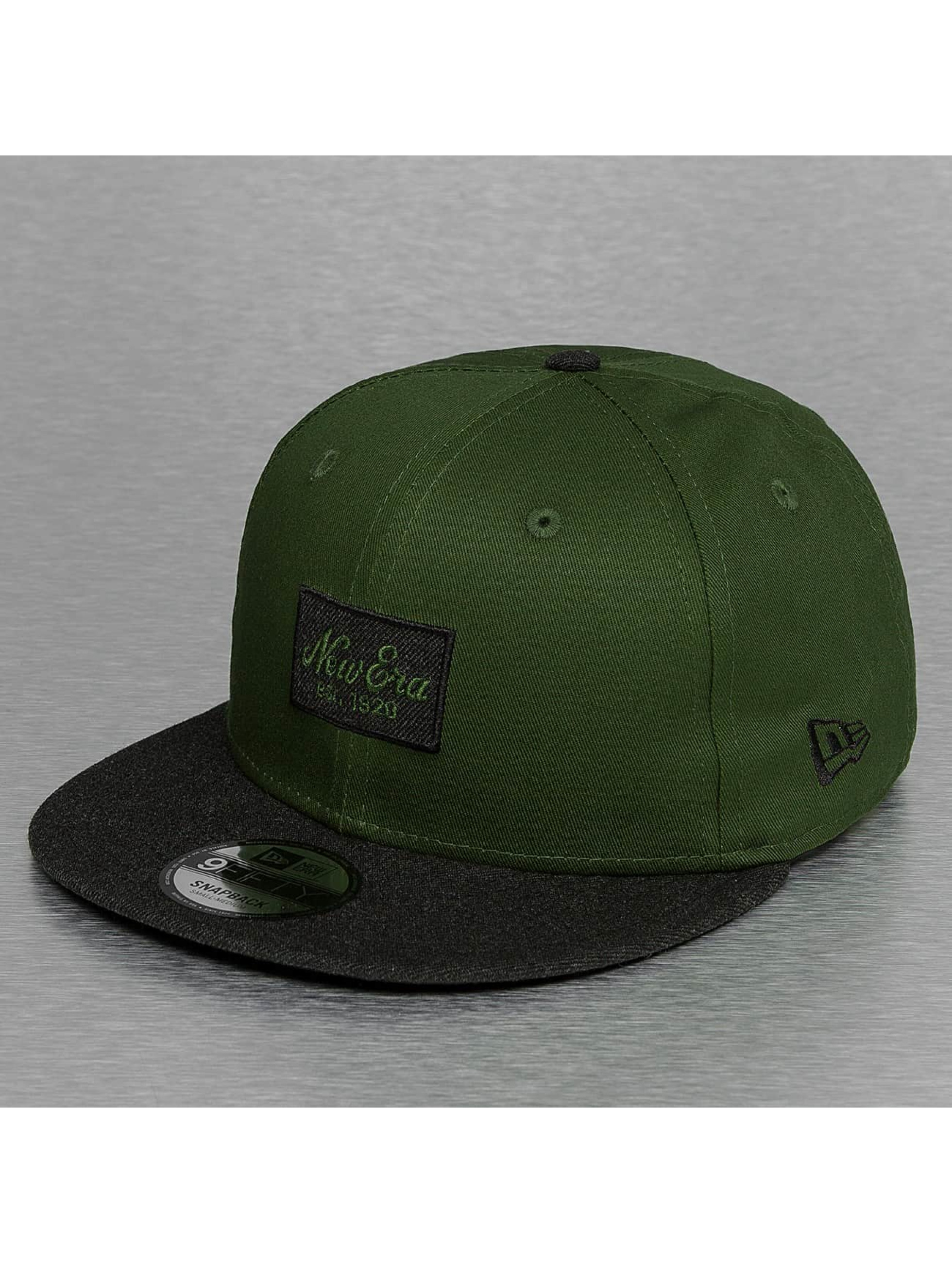 Snapback Cap Contrast Heather Patch 9Fifty in grün