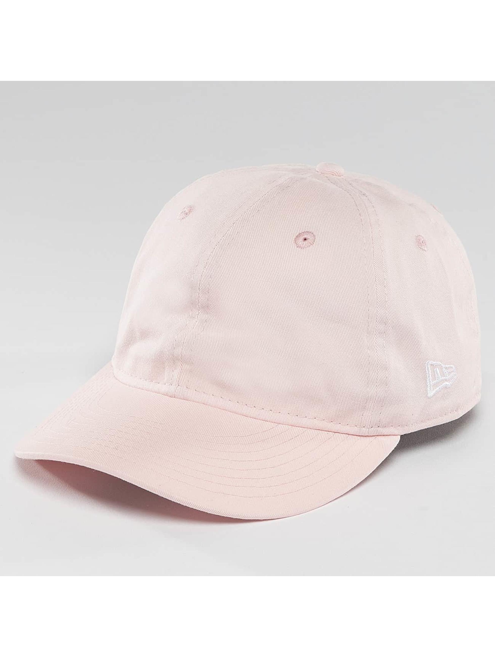 New Era Snapback Cap Sunbleach Unstructured 9Fifty rose