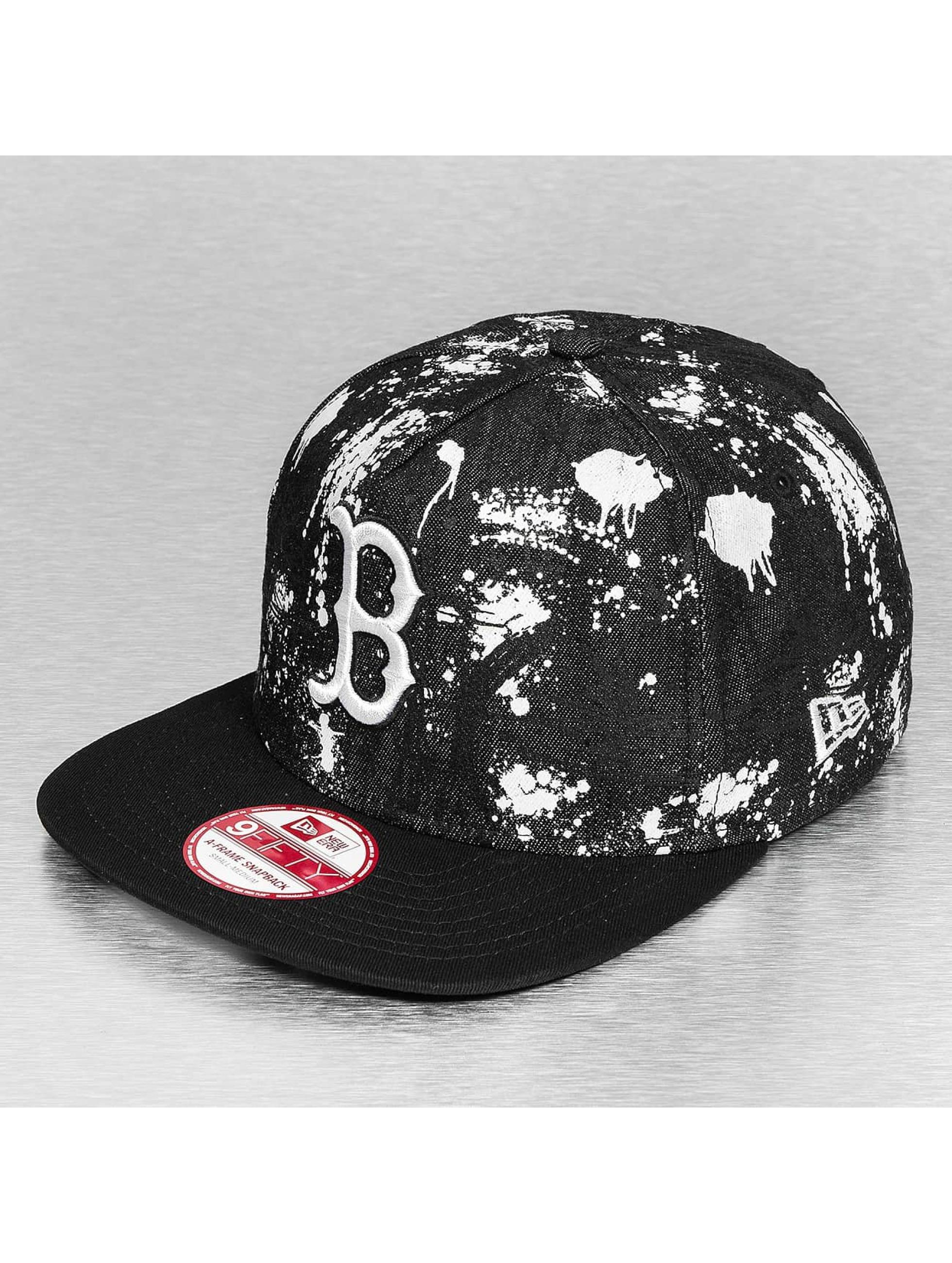 New Era Snapback Cap SA Crown Boston Red Sox schwarz